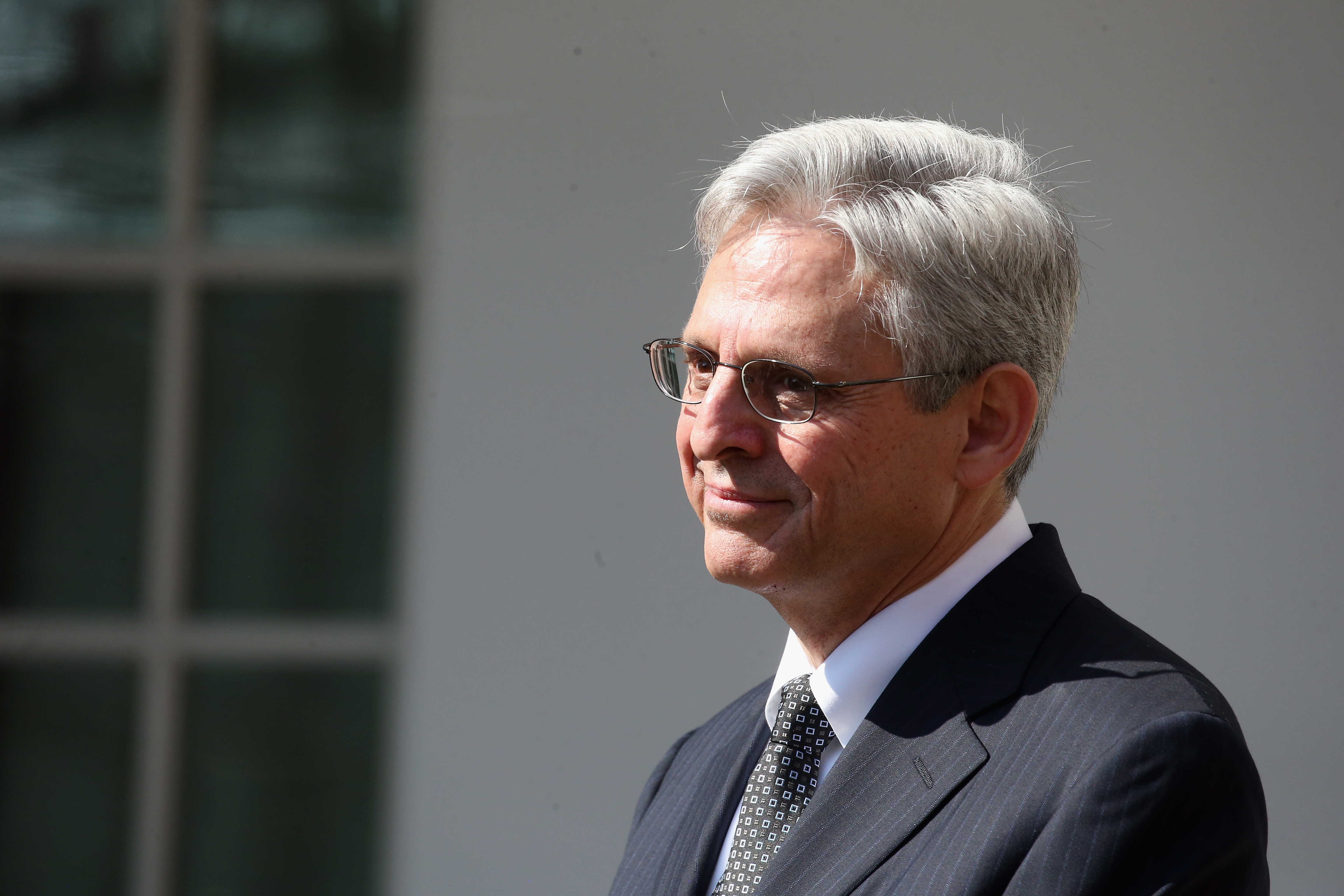 Chief Judge Merrick B. Garland is introduced by U.S. President Barack Obama as the nominee for the Supreme Court in the Rose Garden at the White House in Washington, DC on March 16, 2016.