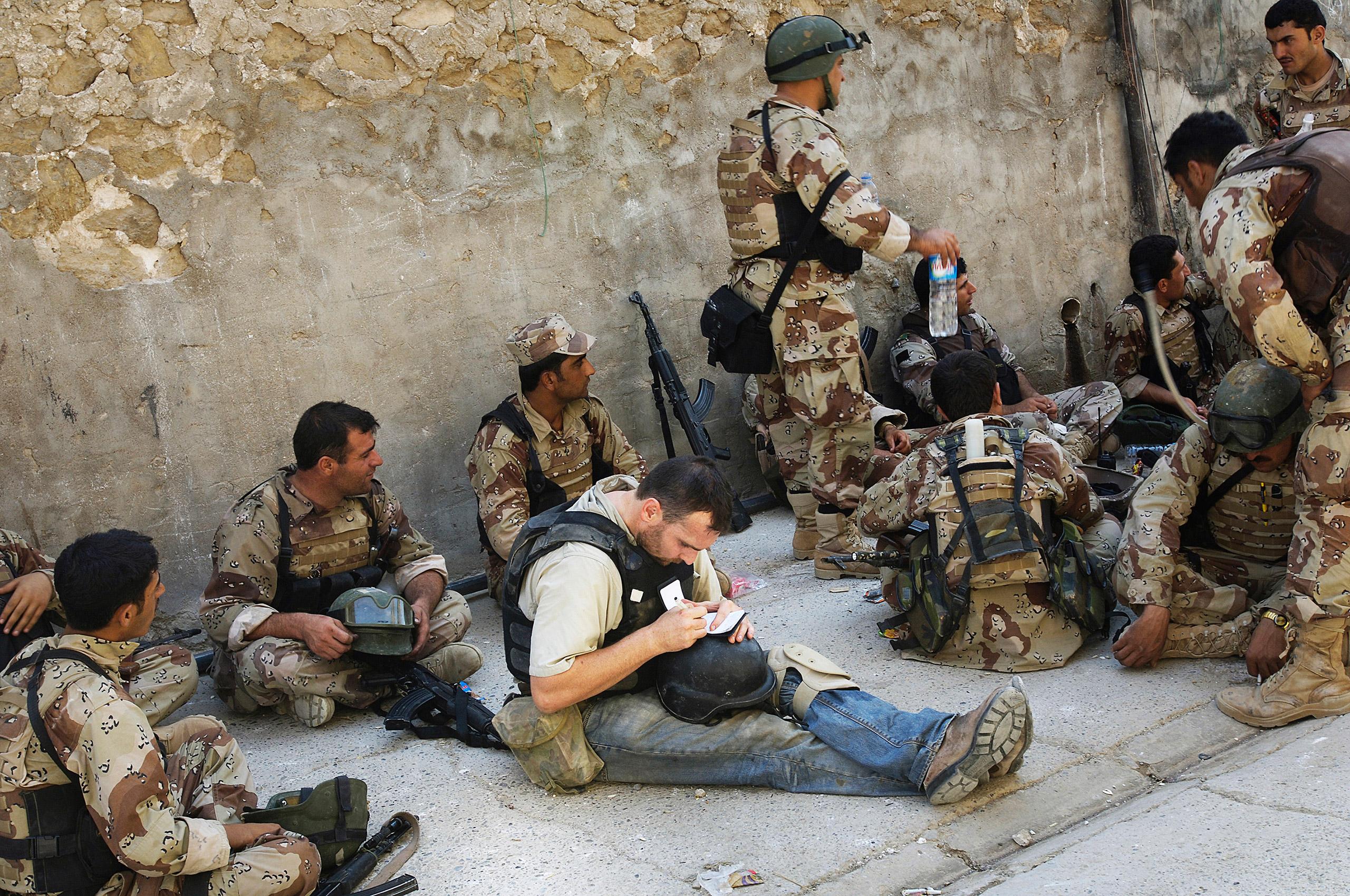 Michael Ware in Iraq.