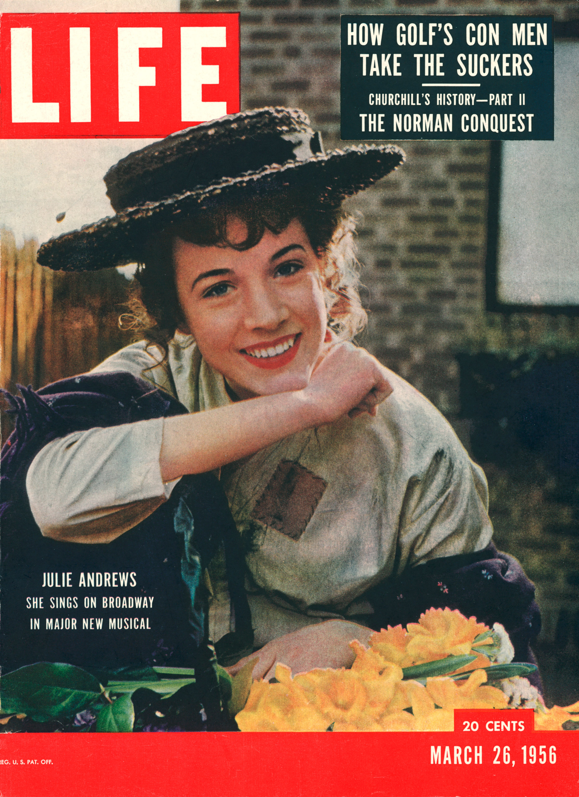 March 26, 1956 cover of LIFE magazine.