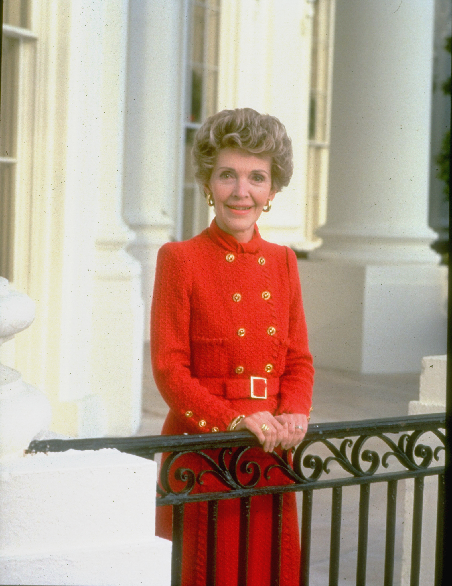 Portrait of a First Lady                                                              When she arrived in Washington in 1981 as the wife of U.S. President Ronald Reagan, Nancy Reagan restored a glamour to the White House that had been absent for several administrations. Her unwavering commitment to her husband and his policies, though controversial at times, inspired Americans on both sides of the political spectrum.