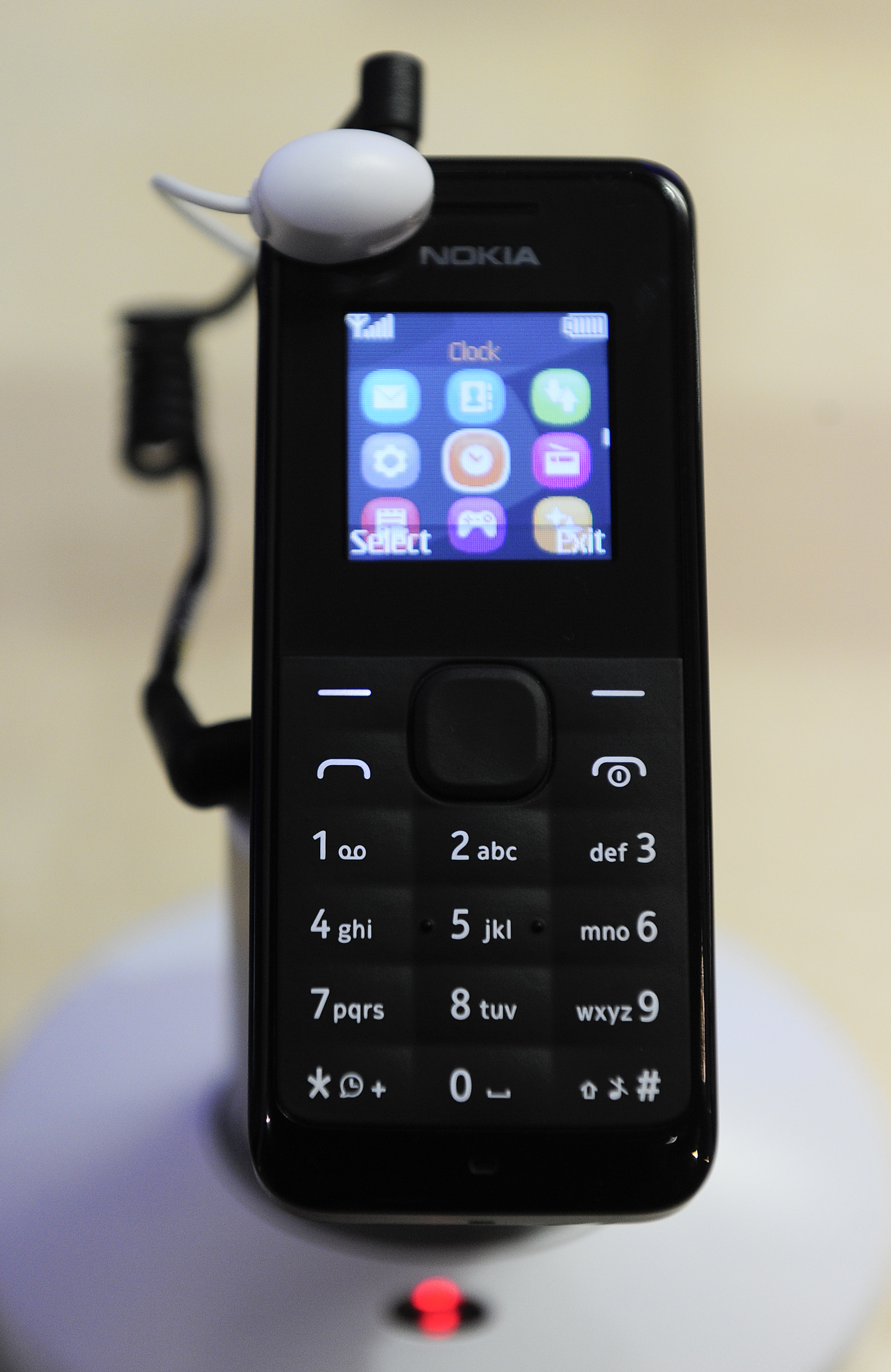 The  Nokia 105  mobile phone by Nokia.