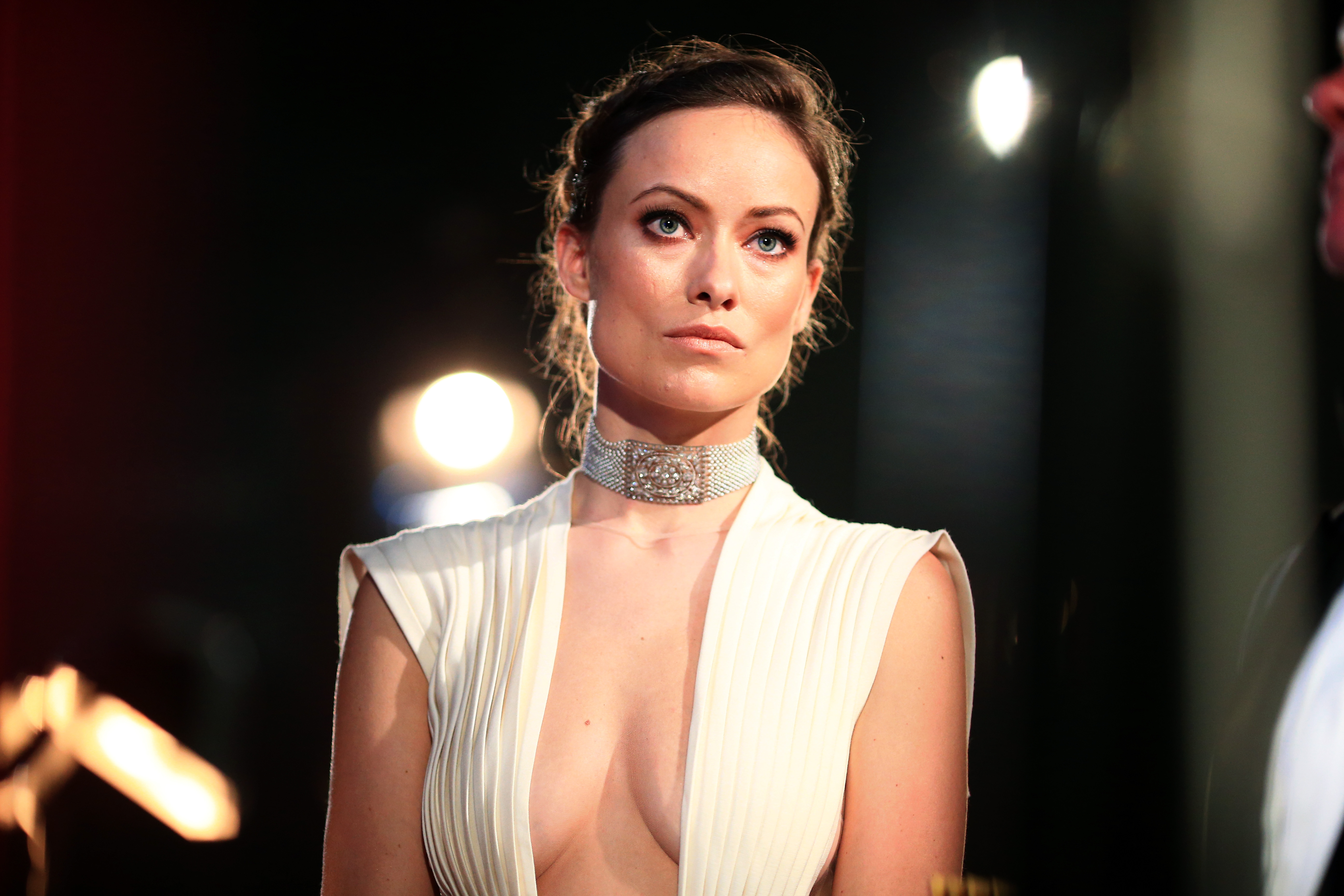Olivia Wilde attends the 88th Annual Academy Awards at Dolby Theatre on February 28, 2016 in Hollywood, California.
