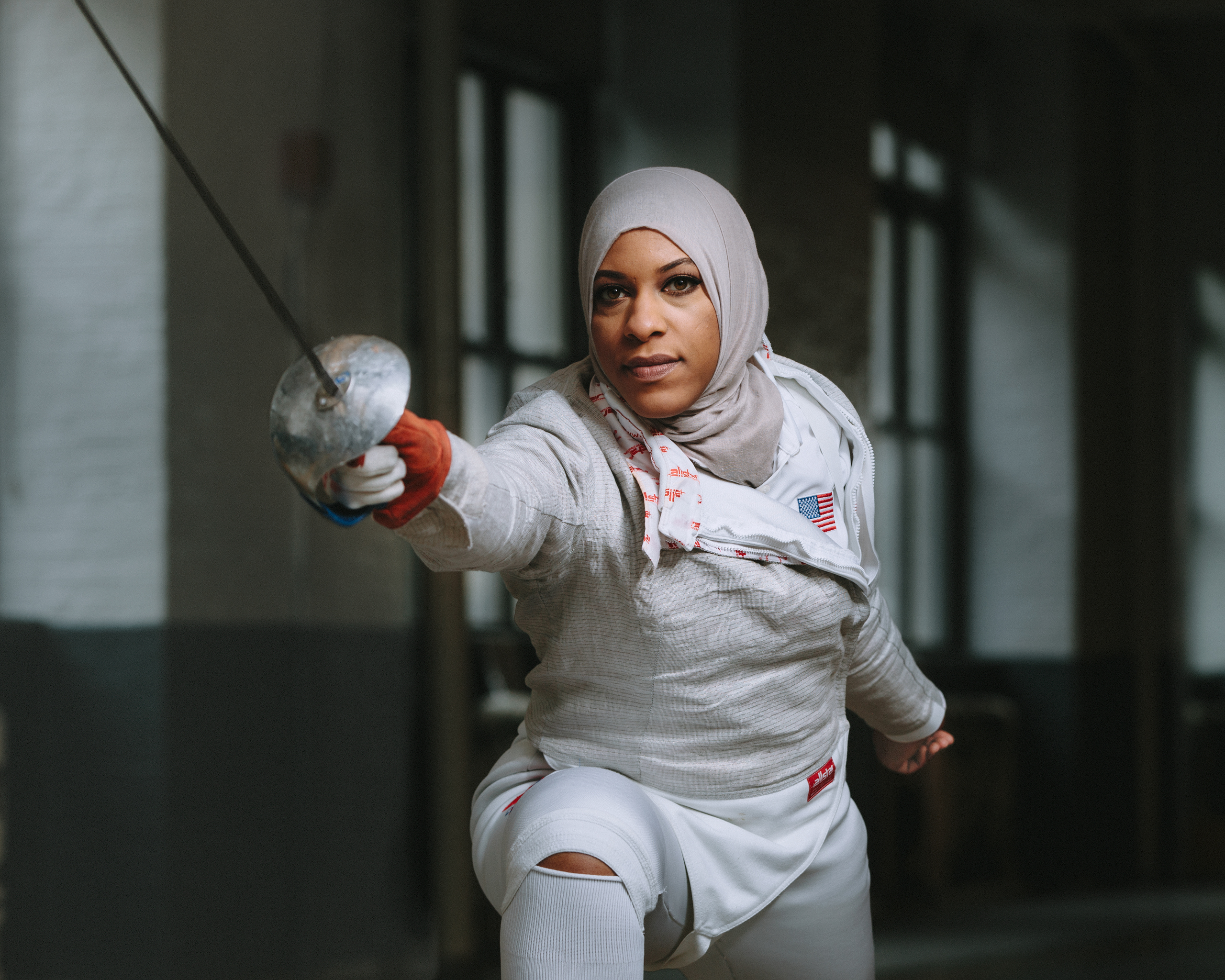 Fencer Ibtihaj Muhammad brings faith and fearlessness to this summer's Olympic Games