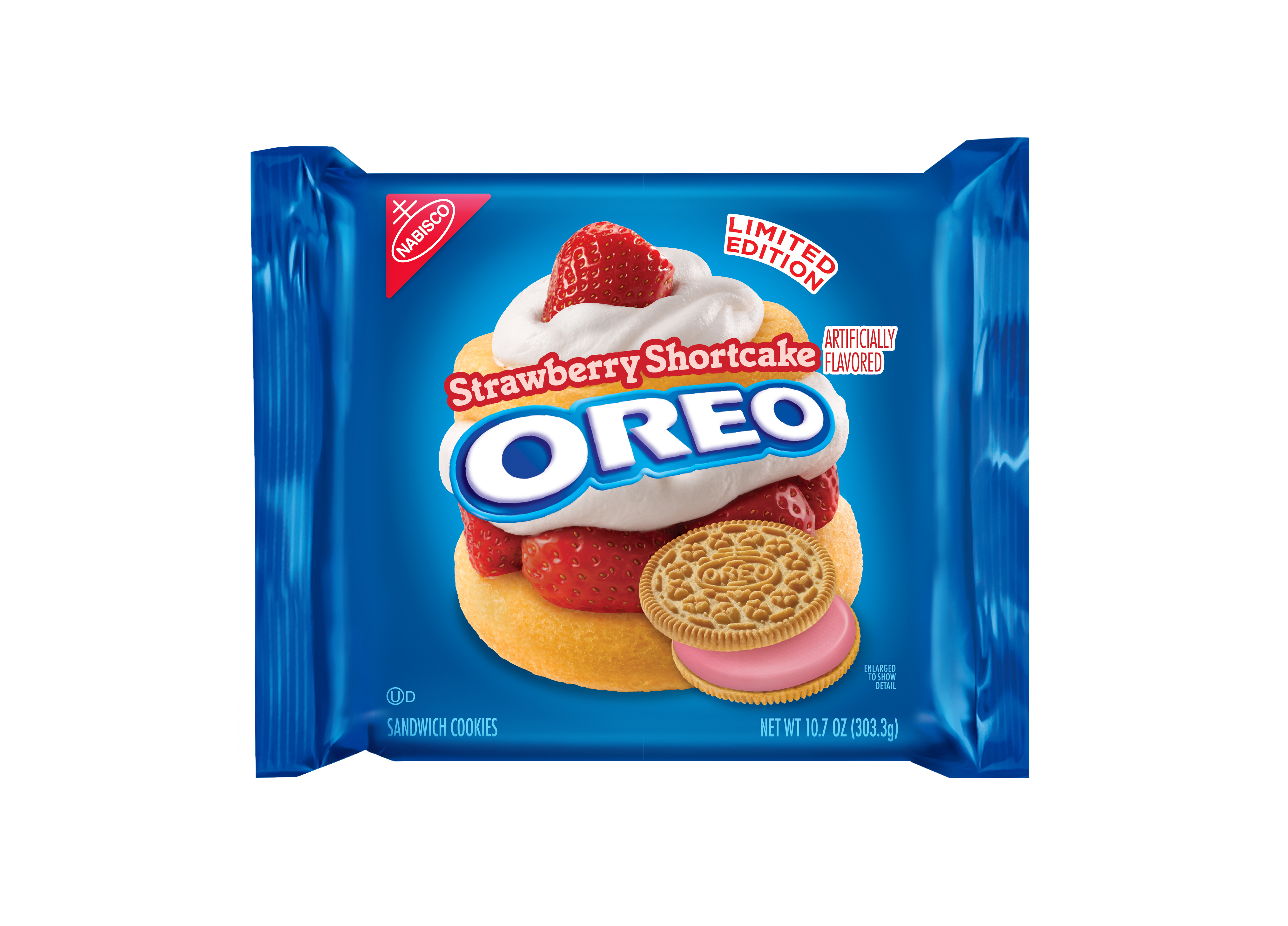 Strawberry shortcake flavored Oreos will hit stores April 4 for a limited time only.