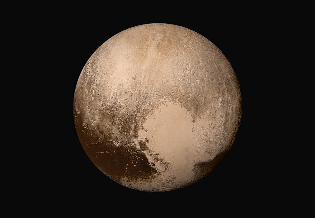 You know you love it: Pluto and its heart-shaped Tombaugh Basin