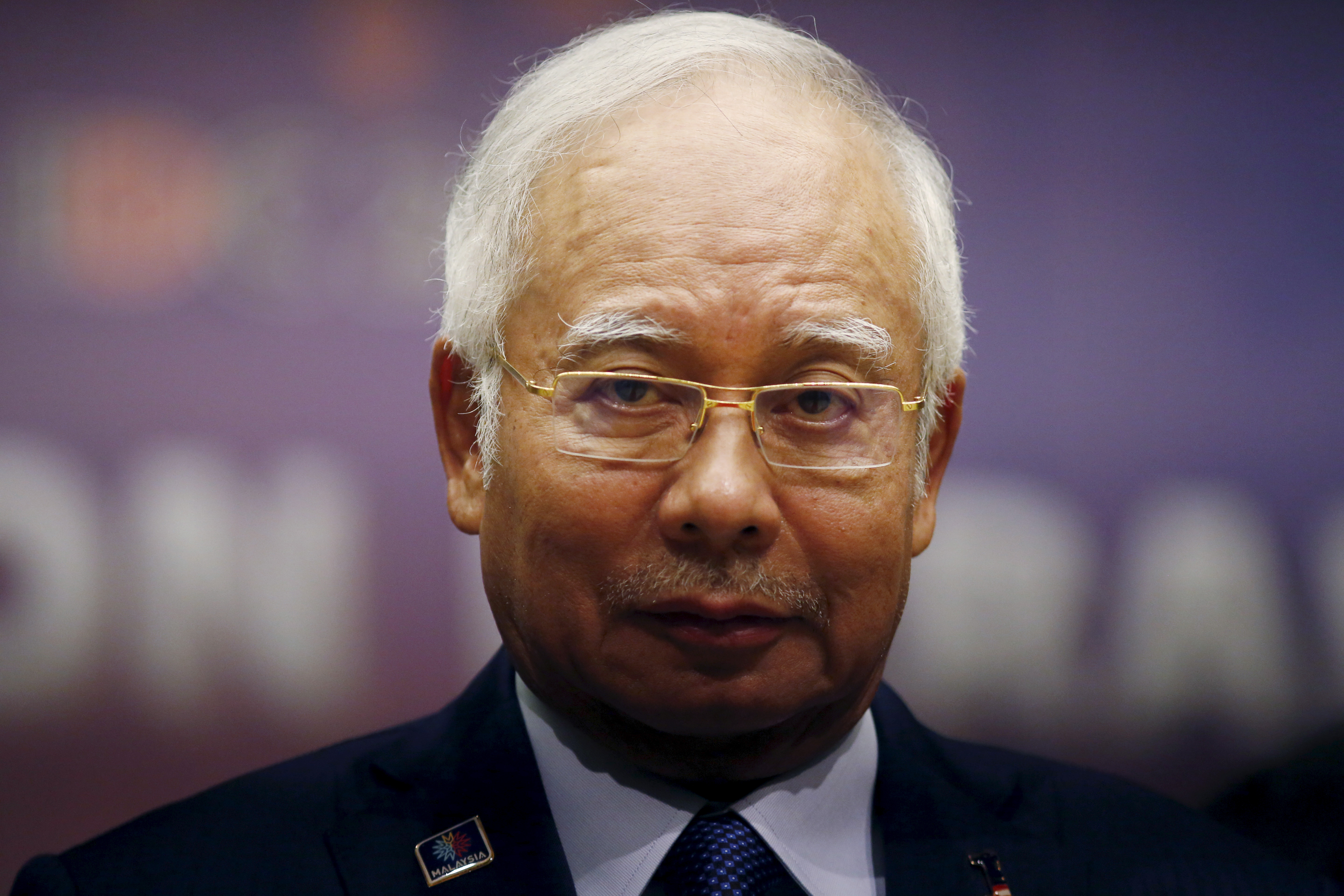 Malaysia's Prime Minister Najib Razak attends the opening of the International Conference on Deradicalisation and Countering Violent Extremism in Kuala Lumpur, Malaysia, January 25, 2016.