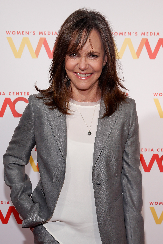 Sally Field attends The Women's Media Center 2015 Women's Media Awards on November 5, 2015 in New York City.