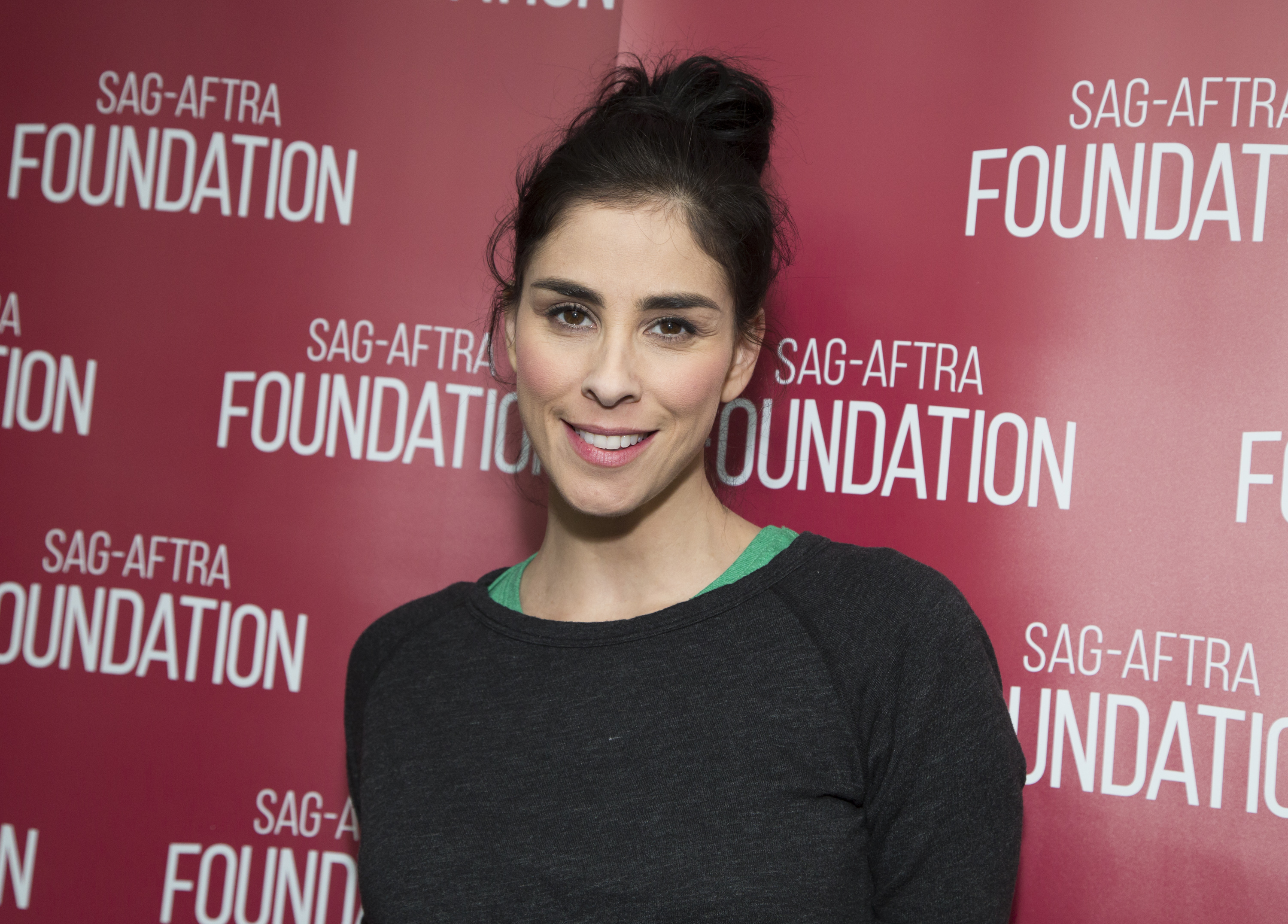 Actress Sarah Silverman attends the SAG-AFTRA Foundation conversations with Sarah Silverman for  I Smile Back  at at SAG-AFTRA on November 23, 2015 in West Hollywood, California.