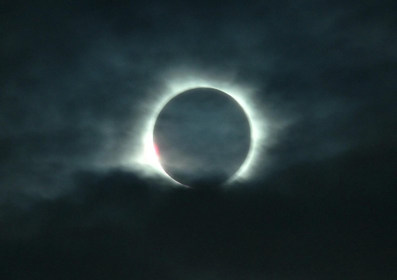 A total solar eclipse is visible from Belitung. Indonesia on March 9.