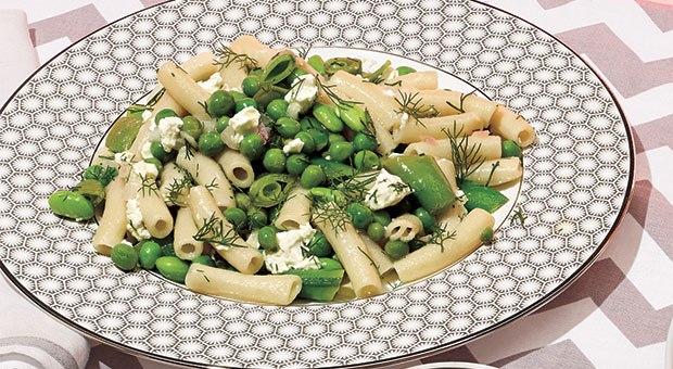 spring-pea-brown-rice-pasta-salad