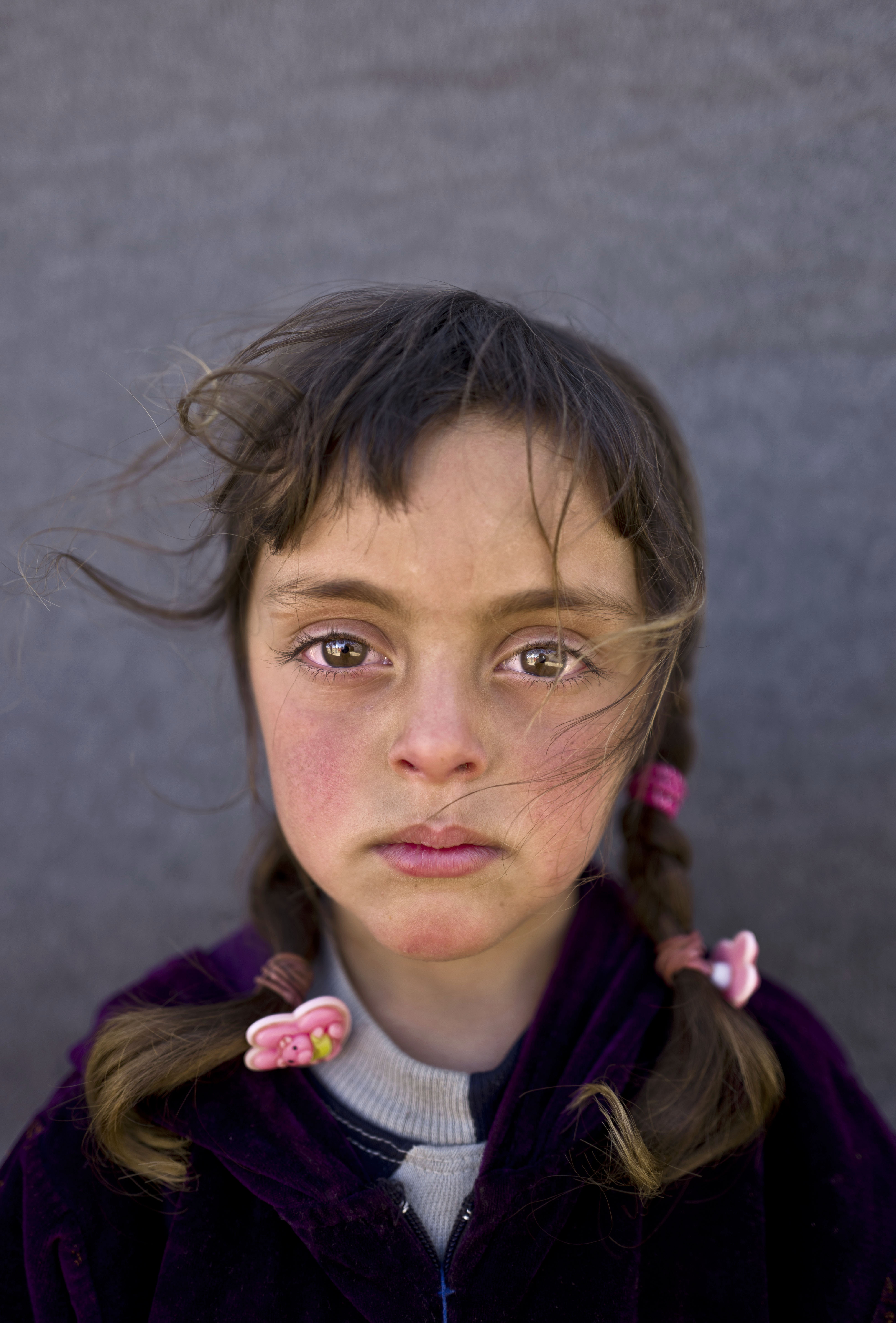 <strong>Zahra Mahmoud</strong>, 5, from Deir el-Zour.