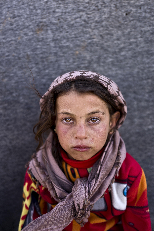 <strong>Hanan Khalid</strong>, 7, from Hassakeh.