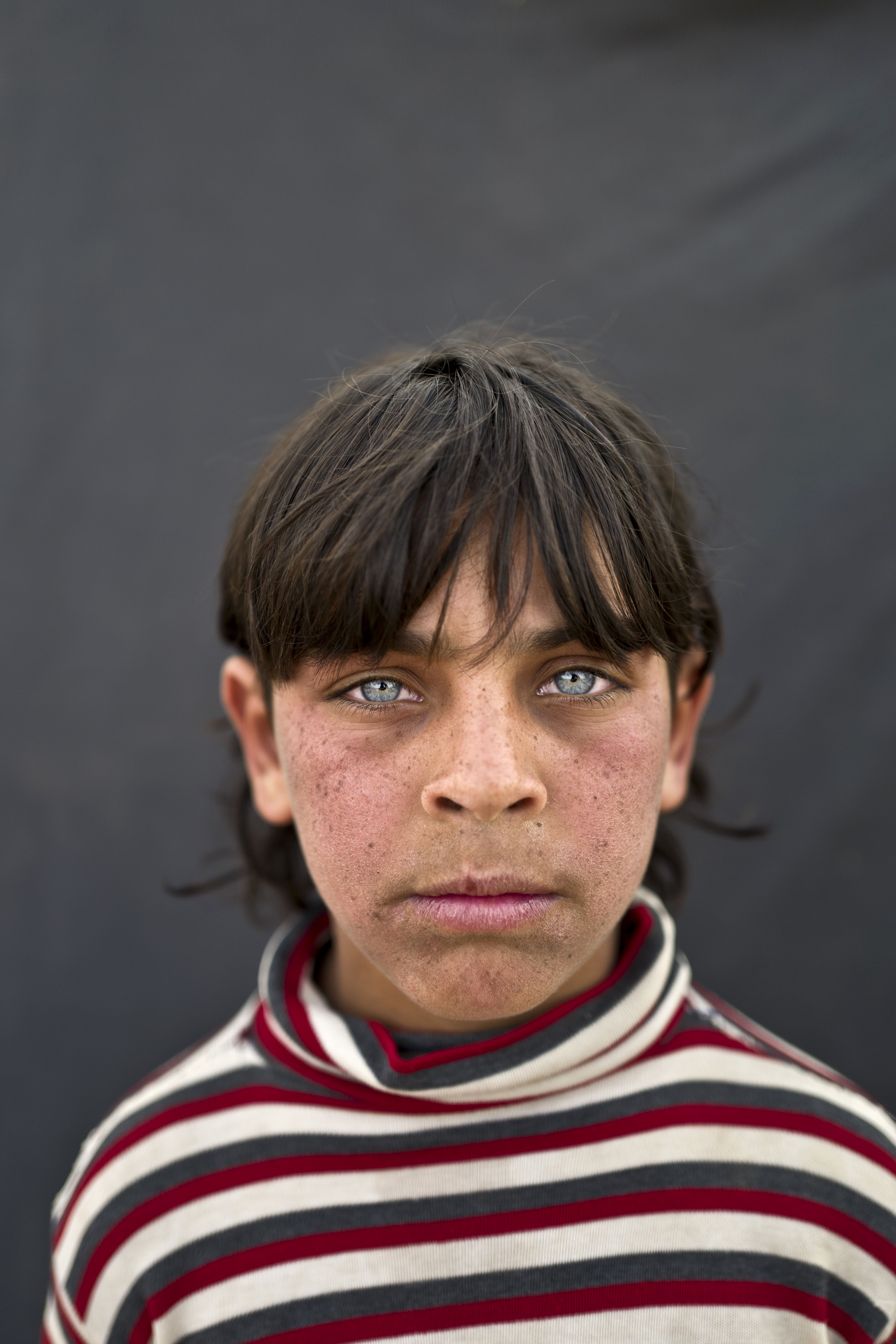 """<strong>Rakan Raslan</strong>, 11, from Hama. """"I used to go to the school back in Hama,"""" Raslan said. """"I used to have friends there. Our home was destroyed in the war and we had to flee to Jordan."""" Rakan said that without an education, his future is in doubt. """"The best I can become is a driver,"""" he said."""