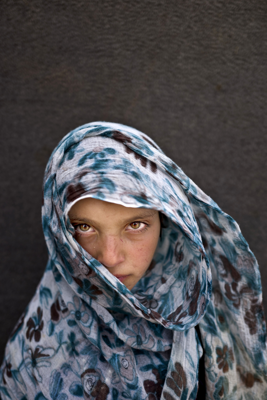 <strong>Amna Zughayar</strong>, 9, from Deir el-Zour.