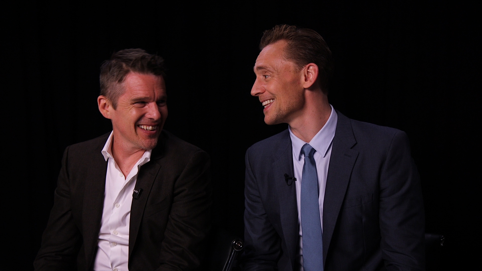 Tom Hiddleston and Ethan Hawke video still
