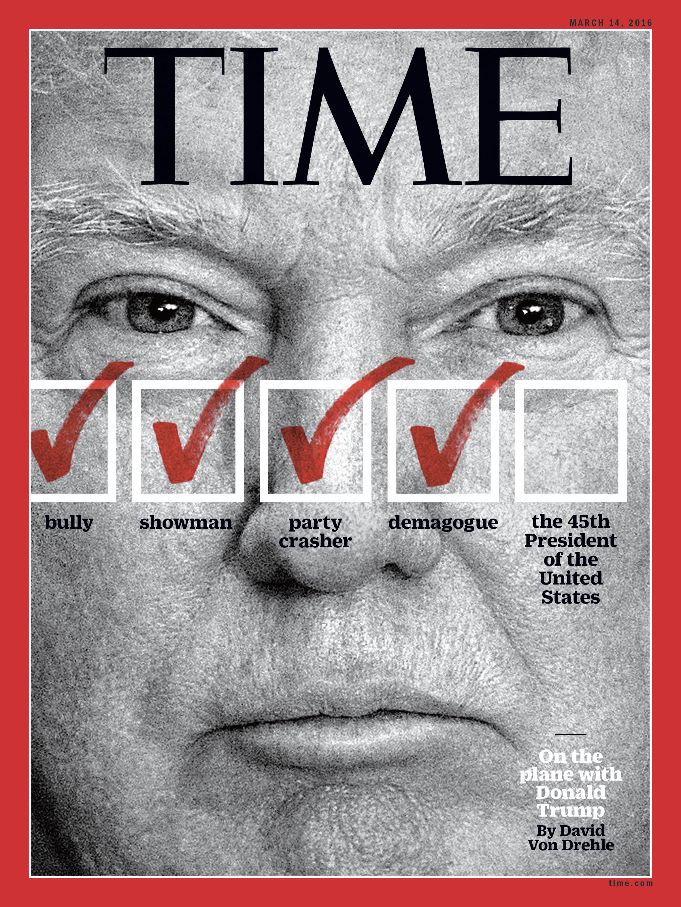 Time Magazine Donald Trump S Wild Ride Time