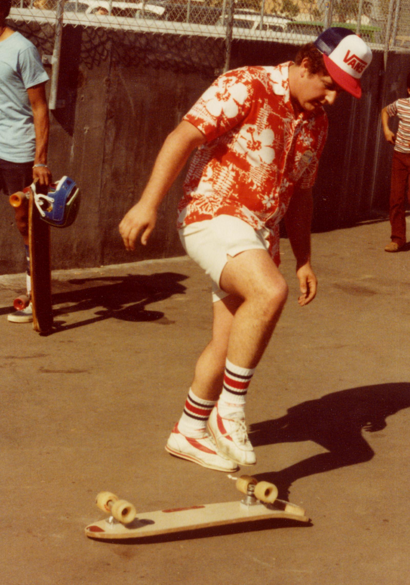 Steve Van Doren in the 1980s.