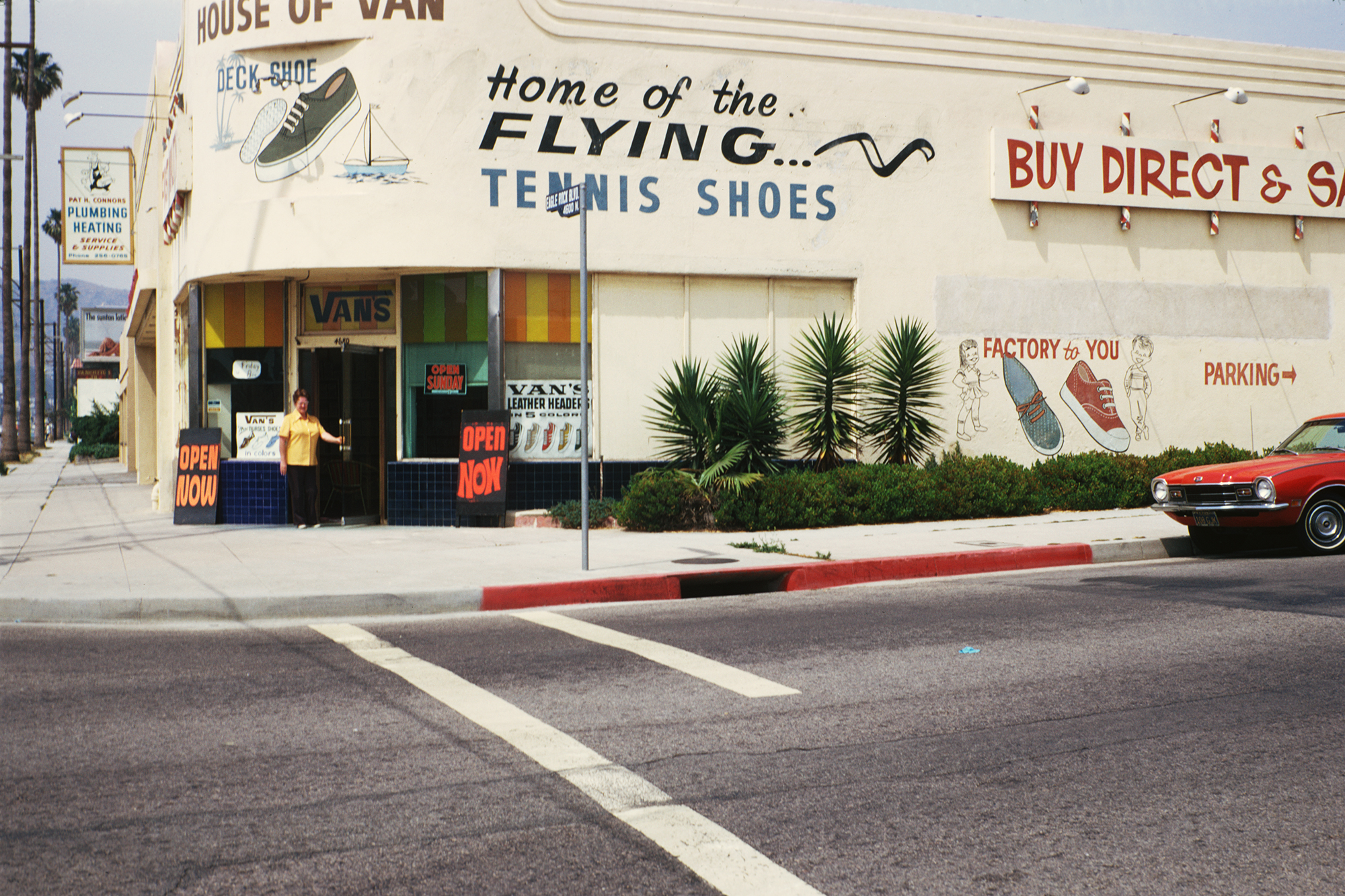 House of Vans was the first store away from the Anaheim, Calif. factory in Costa Mesa, Calif., in the early 1970s.