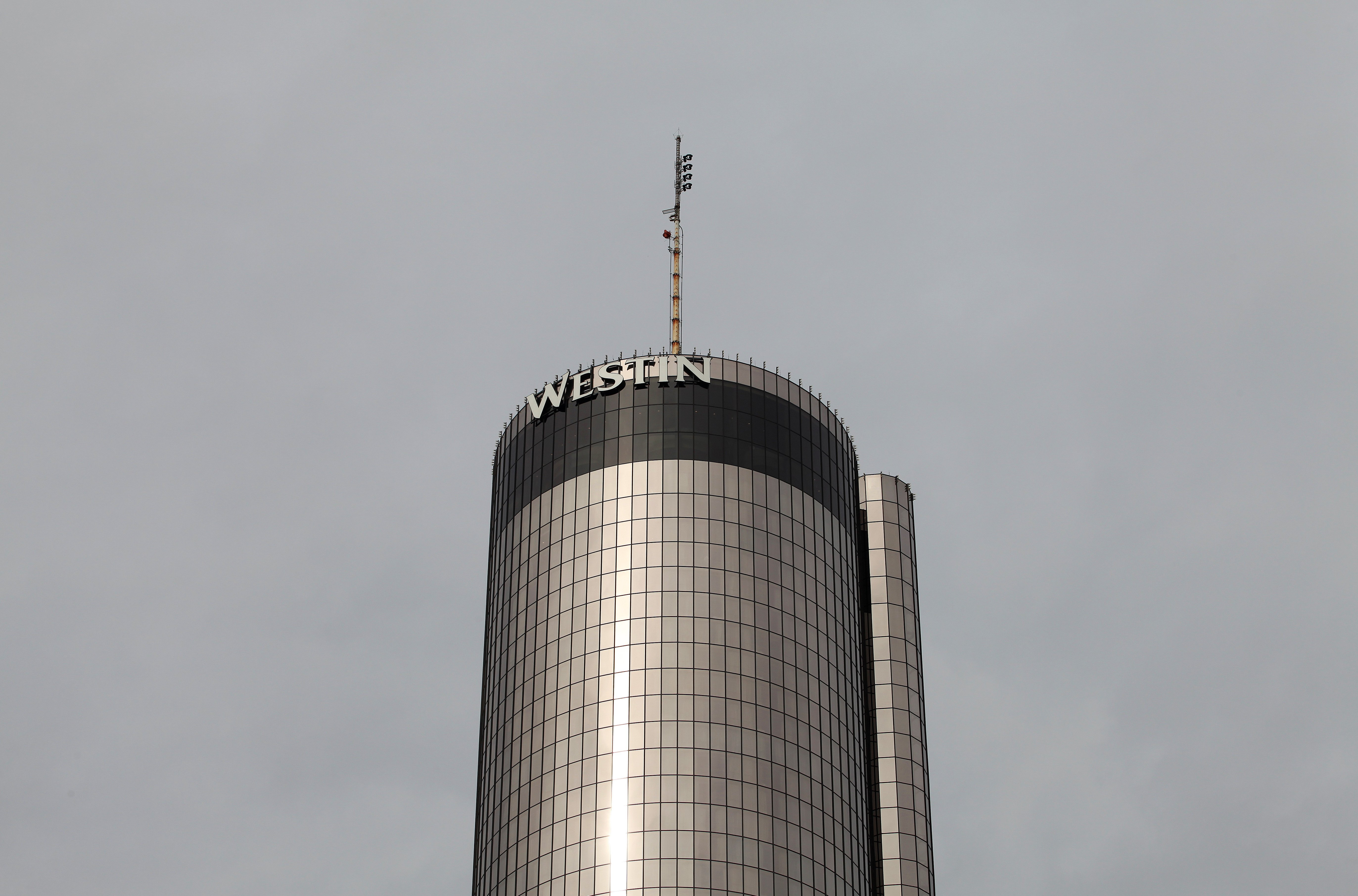 The woman died at the Westin Peachtree Plaza Hotel, in Atlanta, Georgia.