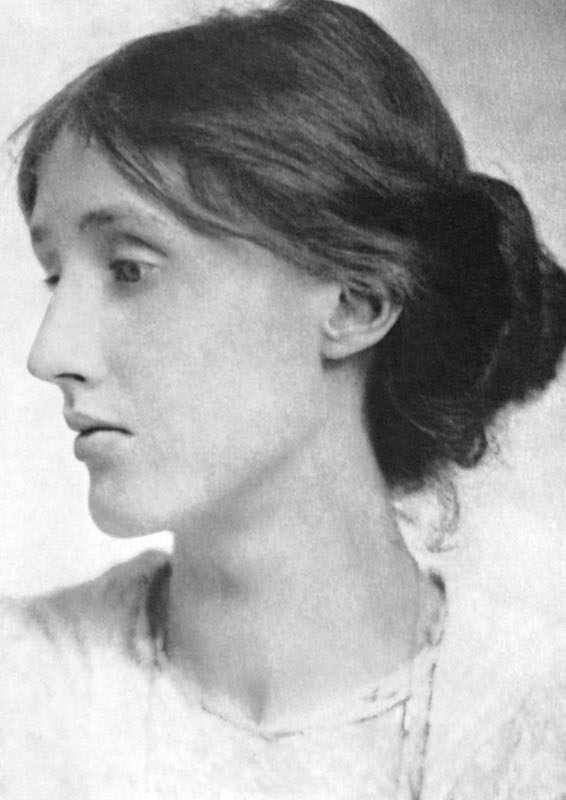 Portrait of Virginia Woolf, circa 1915