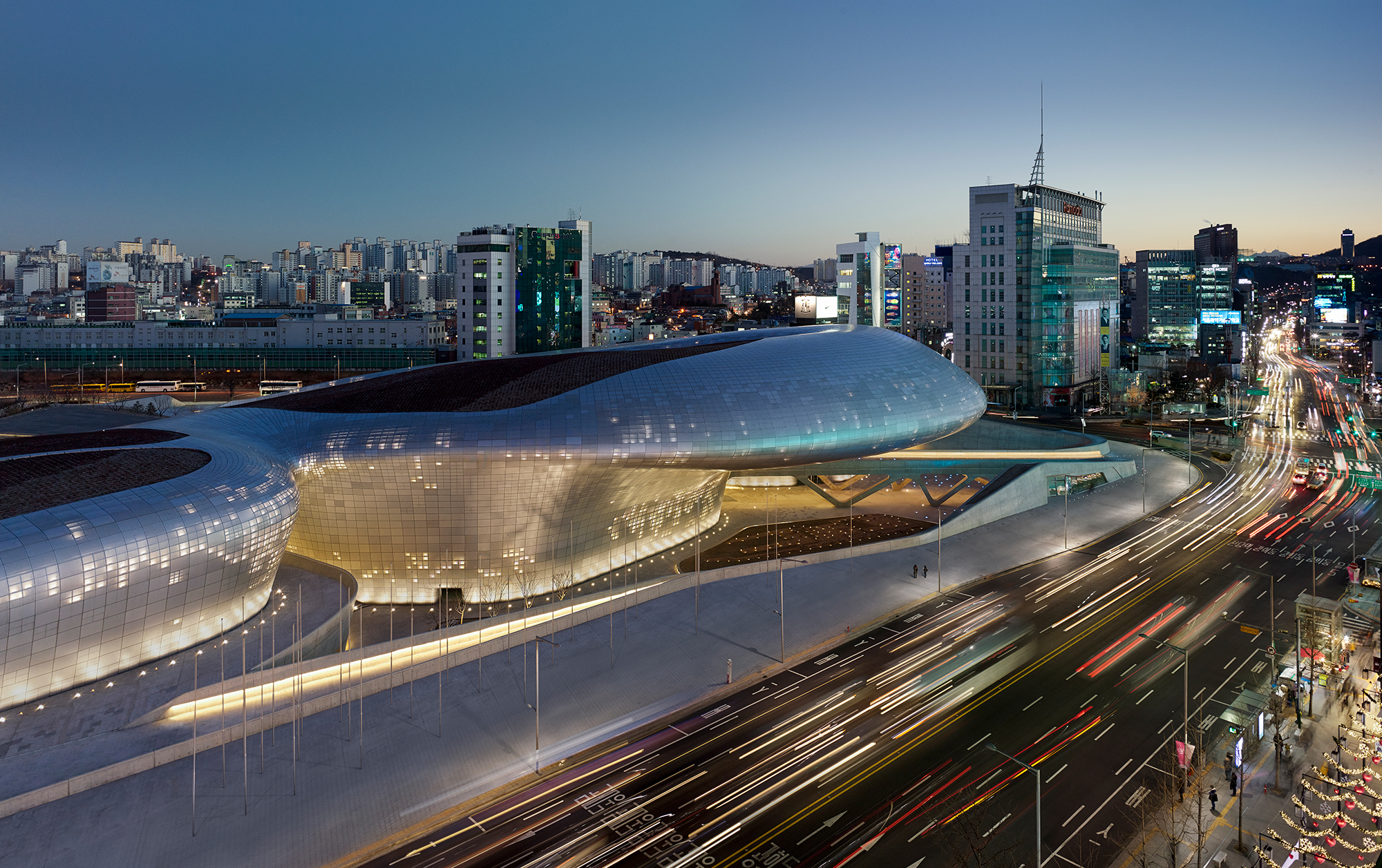 DDP in Seoul.