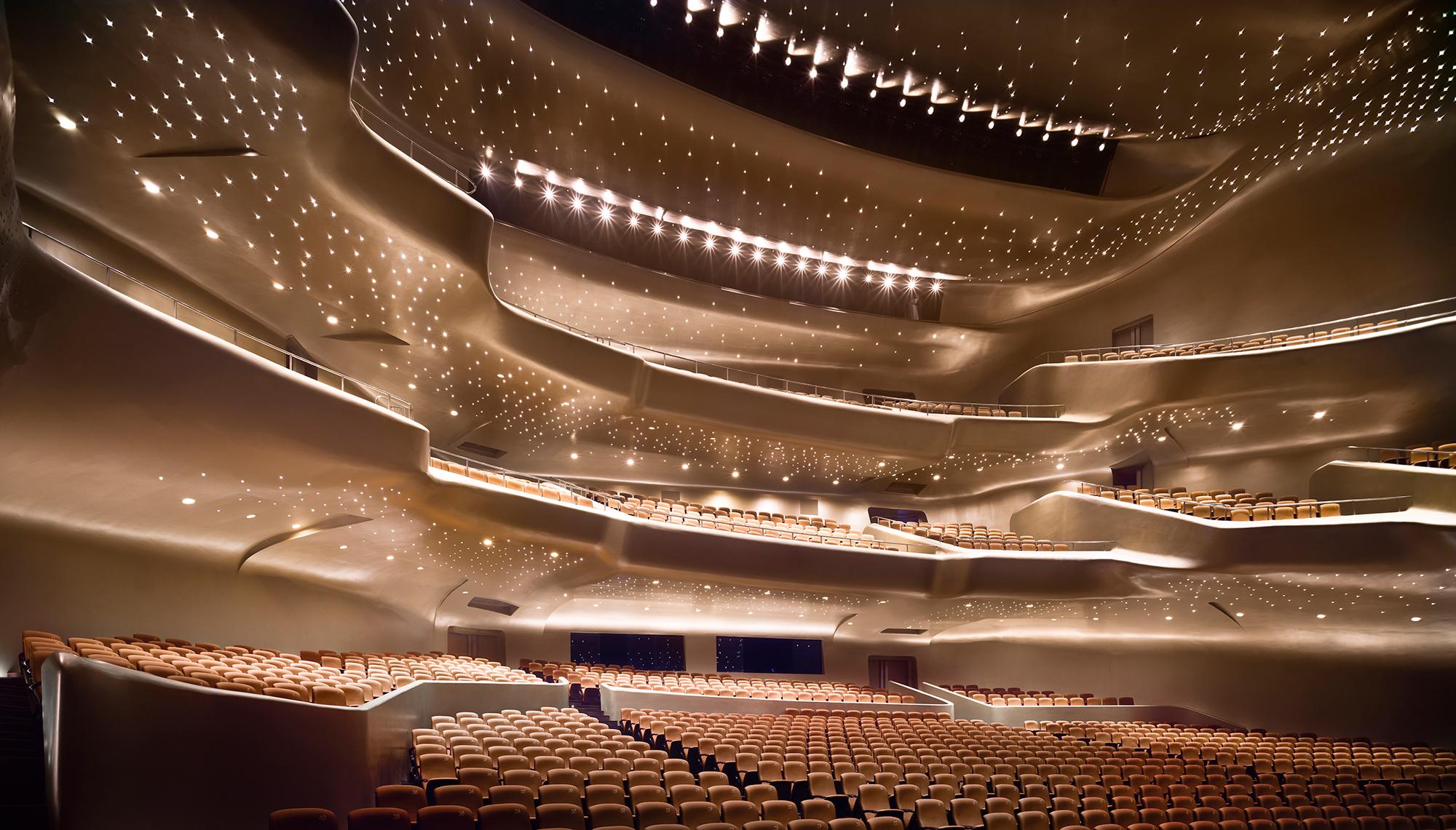 Guangzhou Opera House in Guangzhou, China.