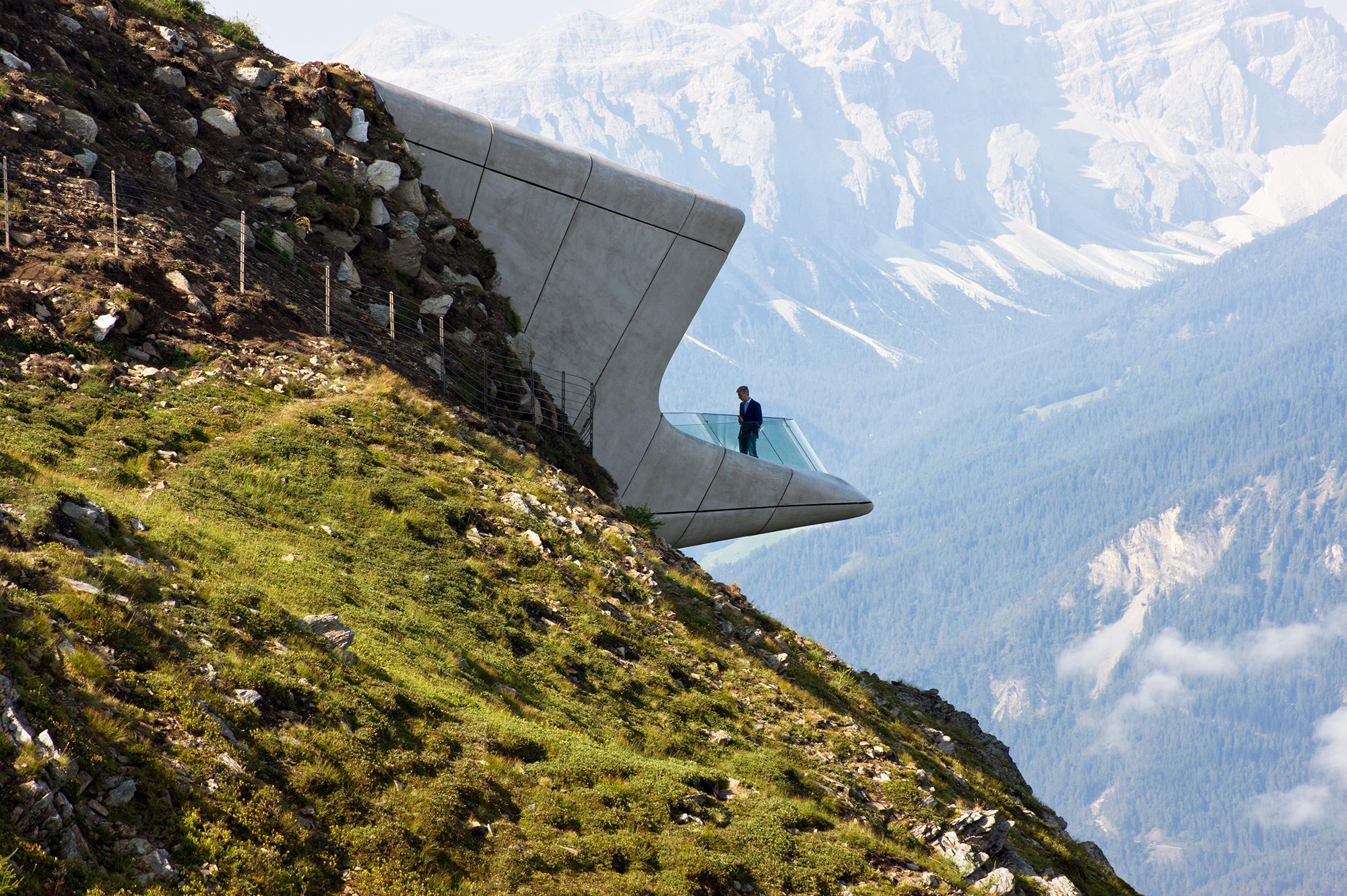 Messner Mountain Museum in Plan de Corones, Italy.