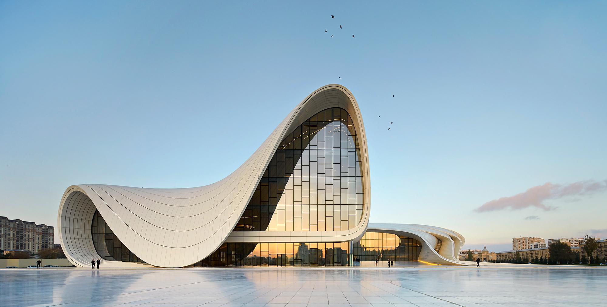 Heydar Aliyev Center in Baku, Azerbaijan.