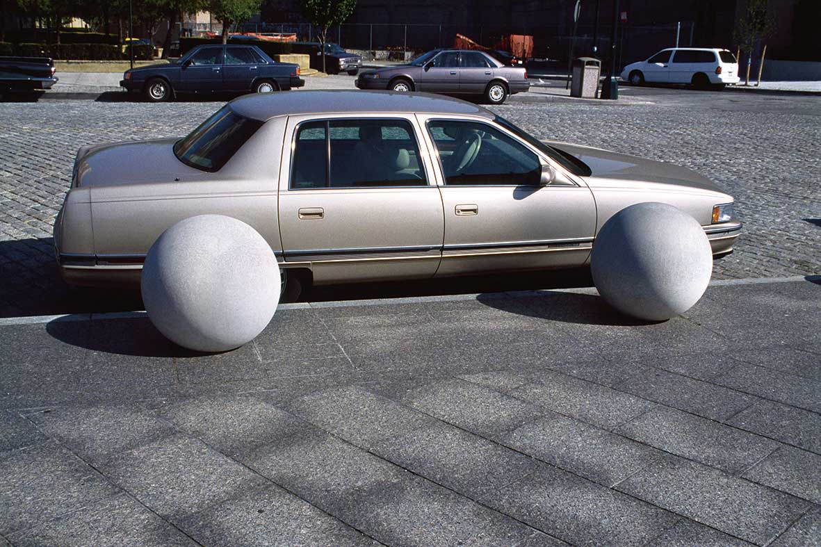 Car with Balls, 2002. Failed it! How to turn mistakes into ideas and other advice for successfully screwing up by Erik Kessels.