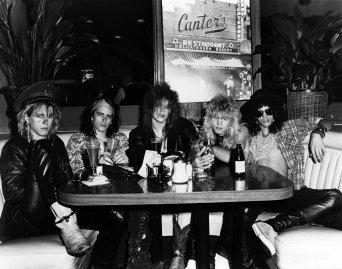 Guns n' Roses At Canter's Deli 1985