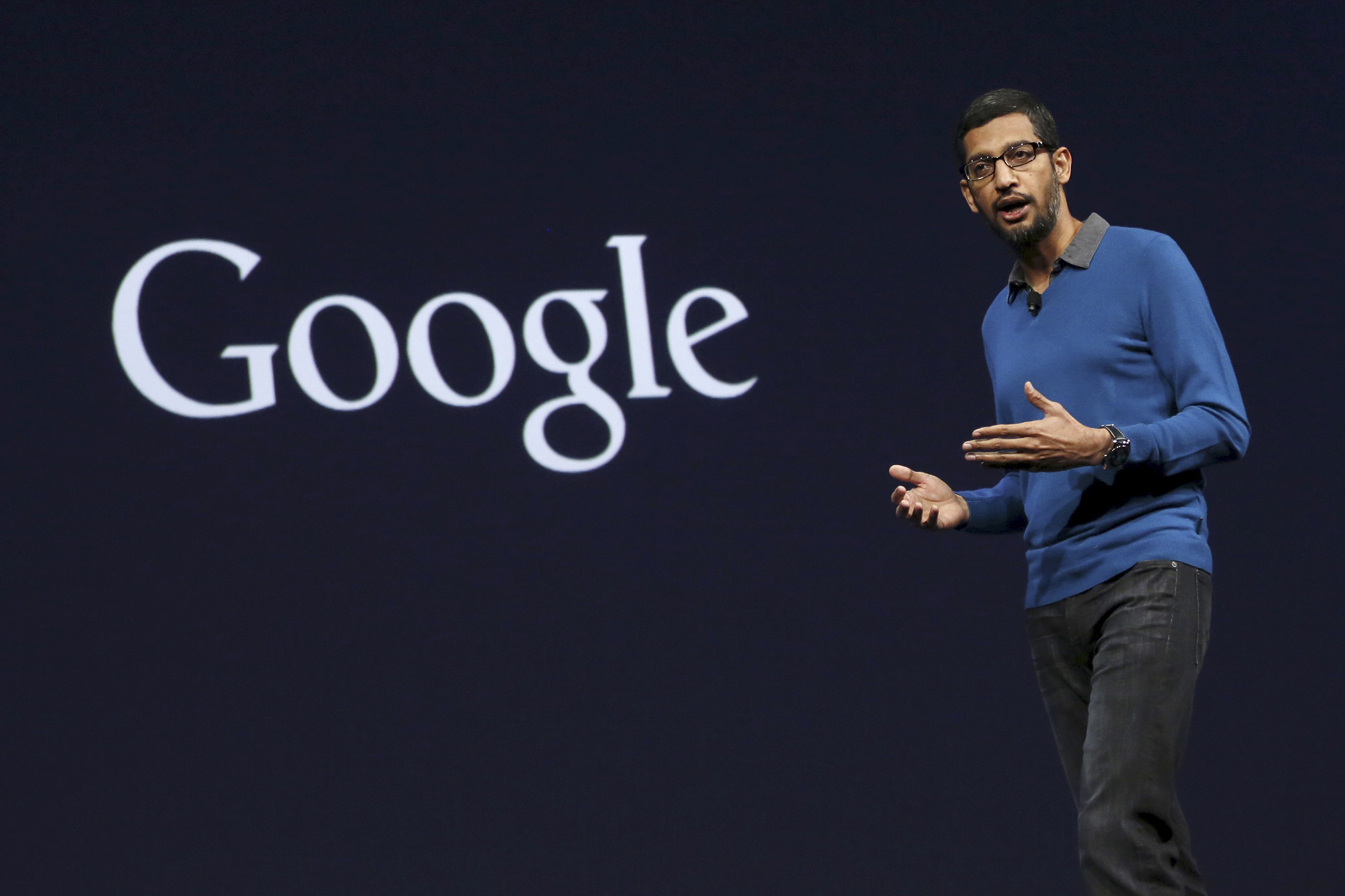 Sundar Pichai, Senior Vice President for Products at Google