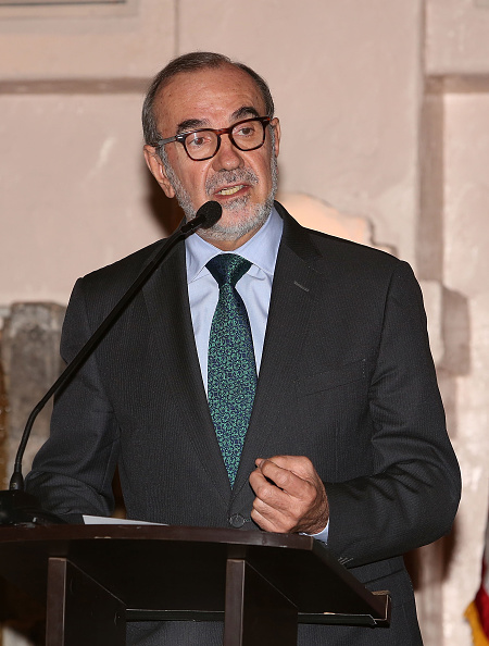 Mexican consul general in Los Angeles, Carlos Sada, attends an event in Los Angeles on Nov. 22, 2015