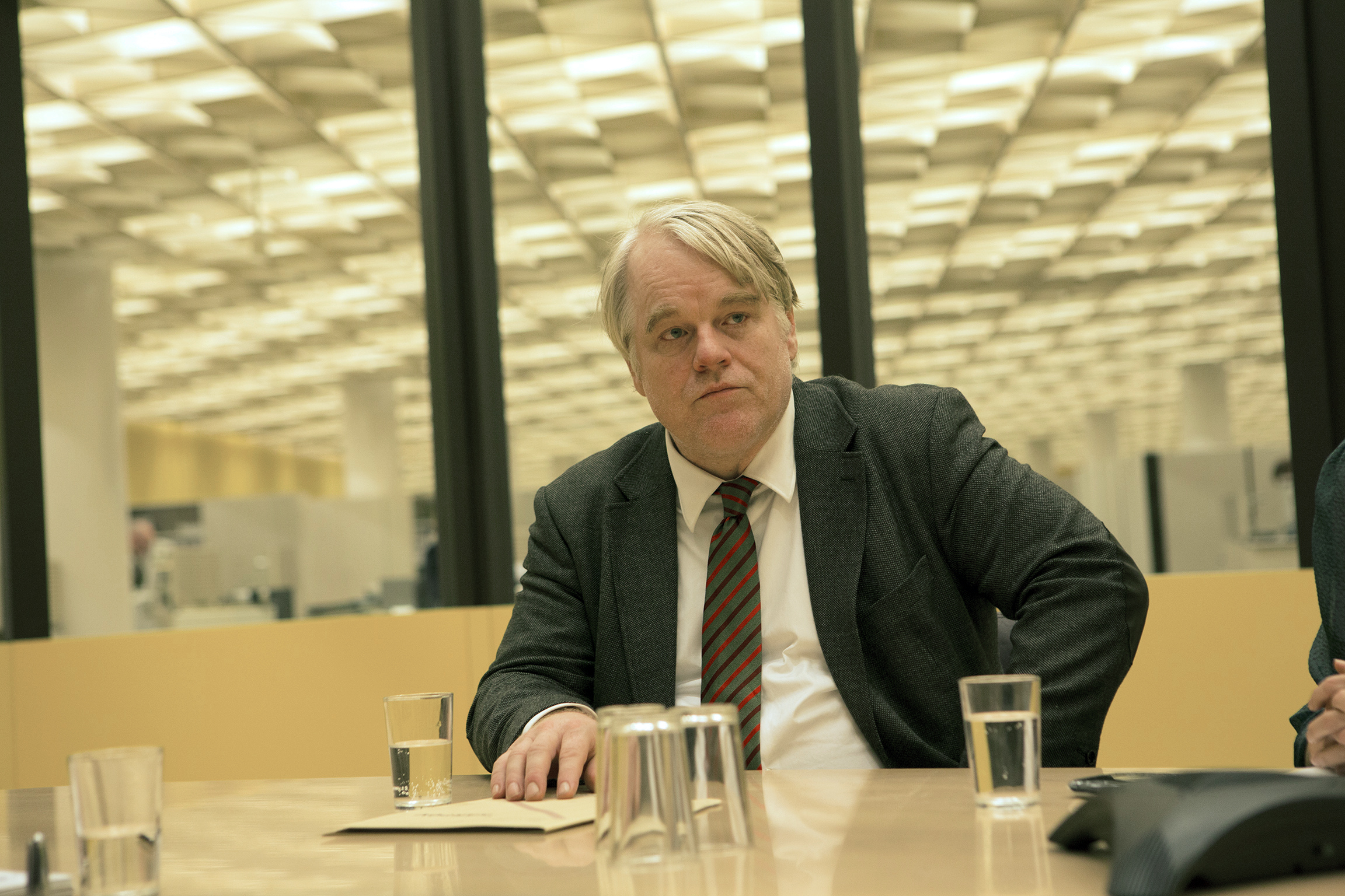 Philip Seymour Hoffman as Günther Bachmann in A Most Wanted Man, 2014