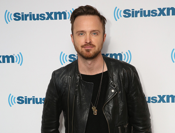 Aaron Paul visits at SiriusXM Studio on April 1, 2016 in New York City.