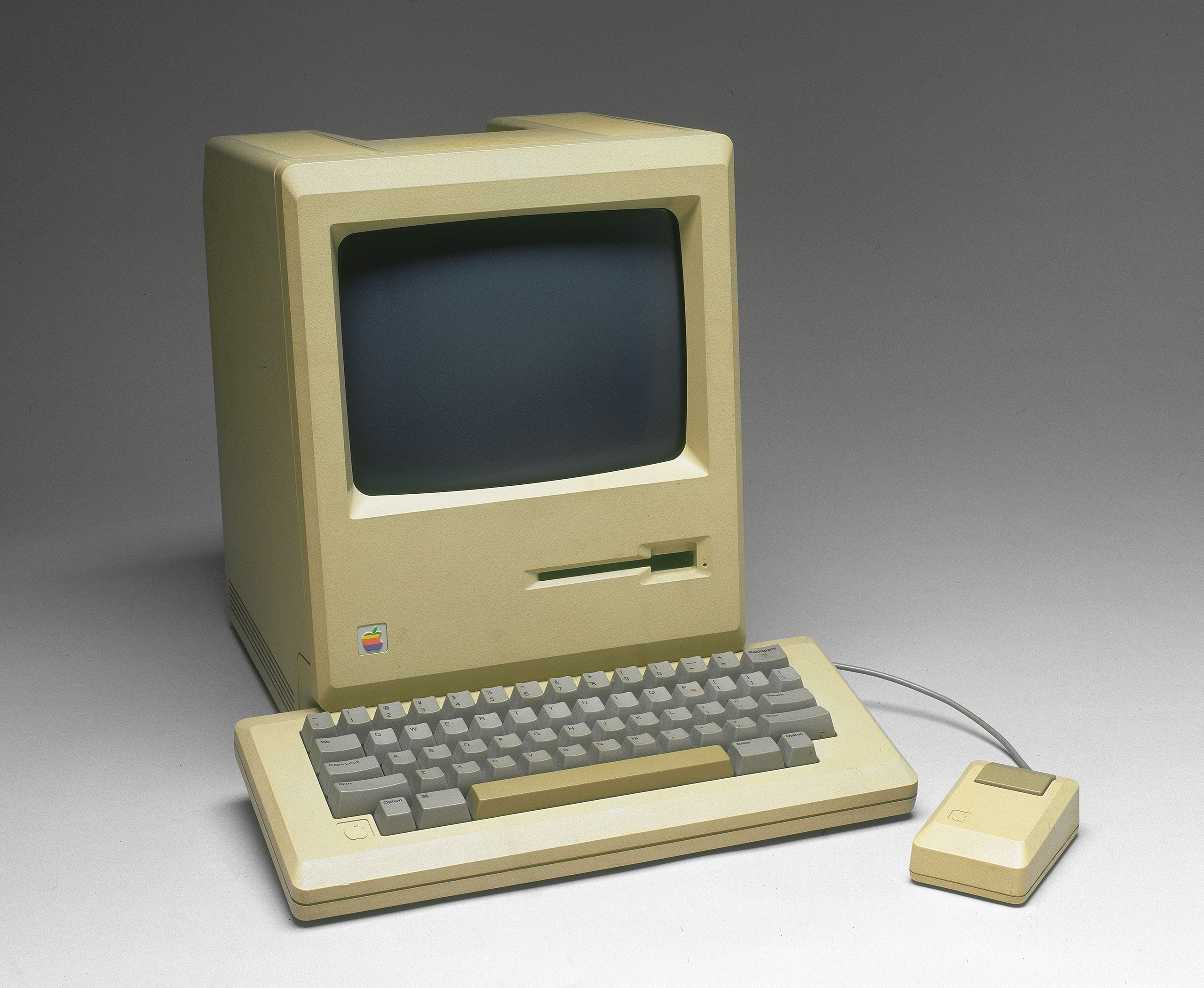 Apple Macintosh computer, model M001, c 1984.