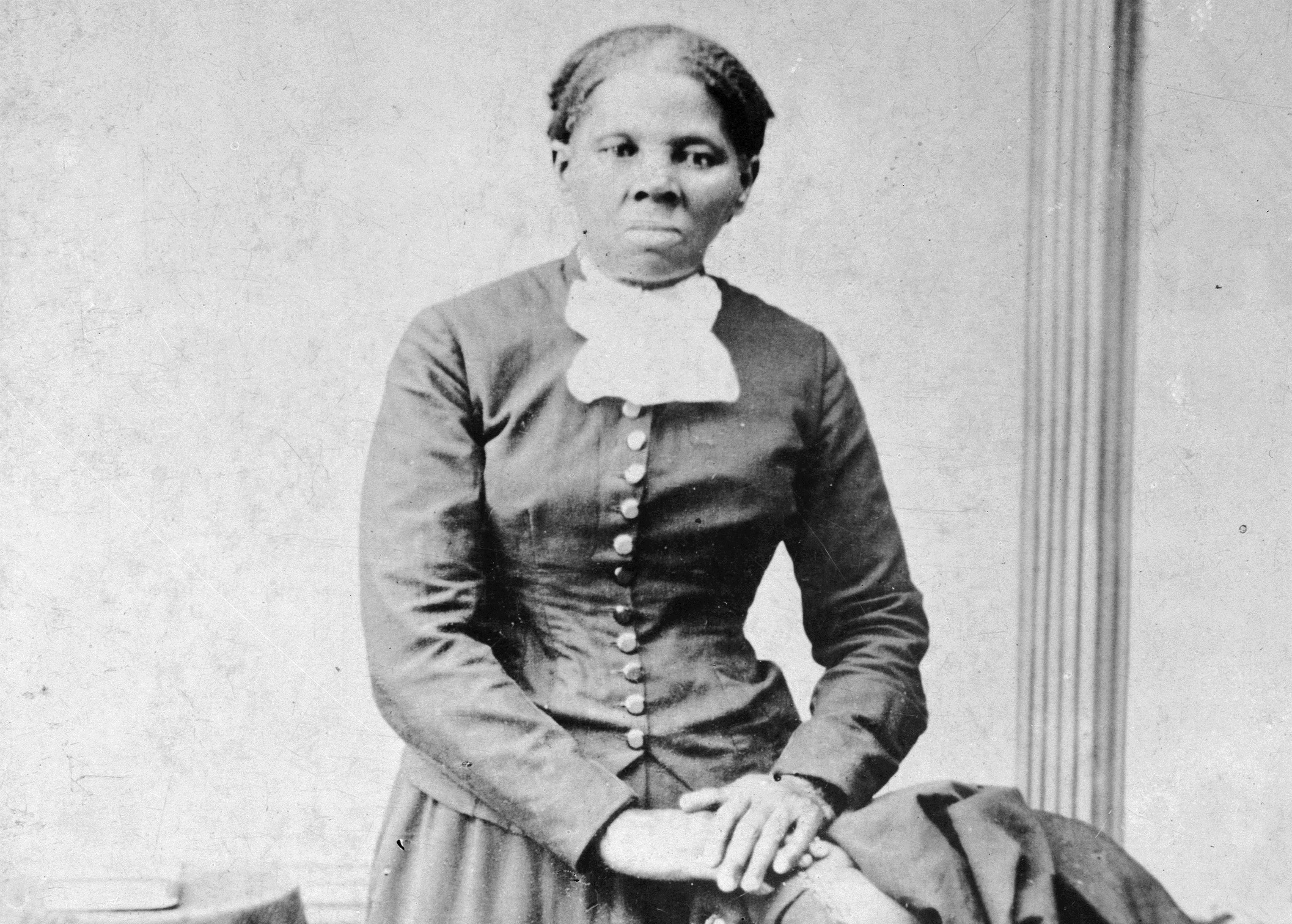 This image provided by the Library of Congress shows Harriet Tubman, between 1860 and 1875.