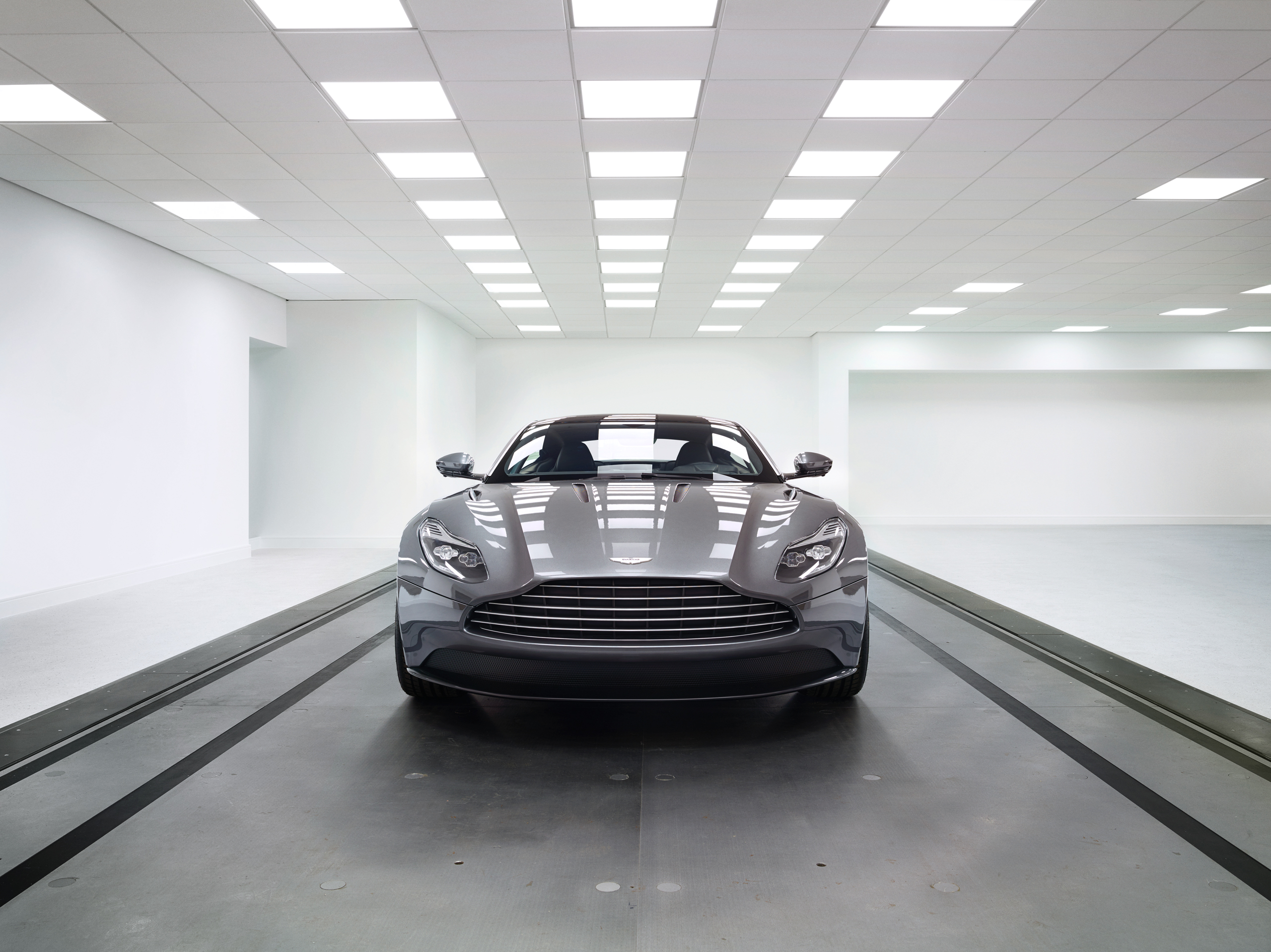 The DB11, previewed by Wallpaper* at the Aston Martin HQ in Graydon.