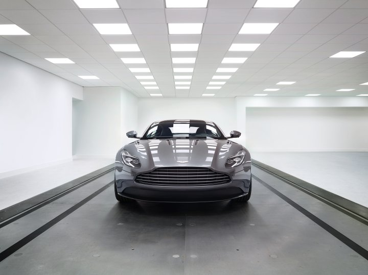 The DB11, previewed by Wallpaper* at the Aston Martin HQ in Graydon