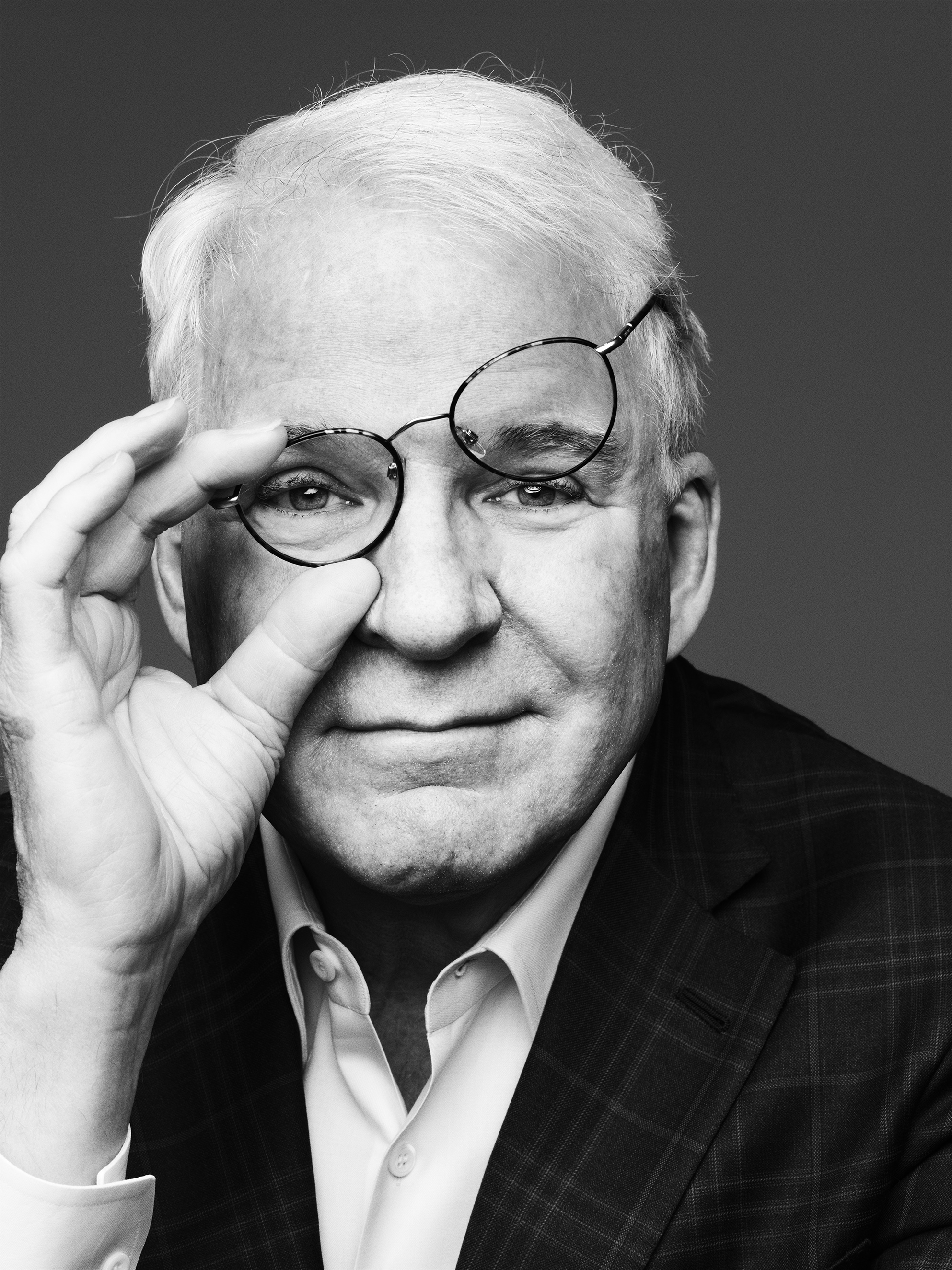 Steve Martin photographed in New York City on March 1, 2016. From  Broadway Goes Bluegrass.  April 4, 2016 issue.