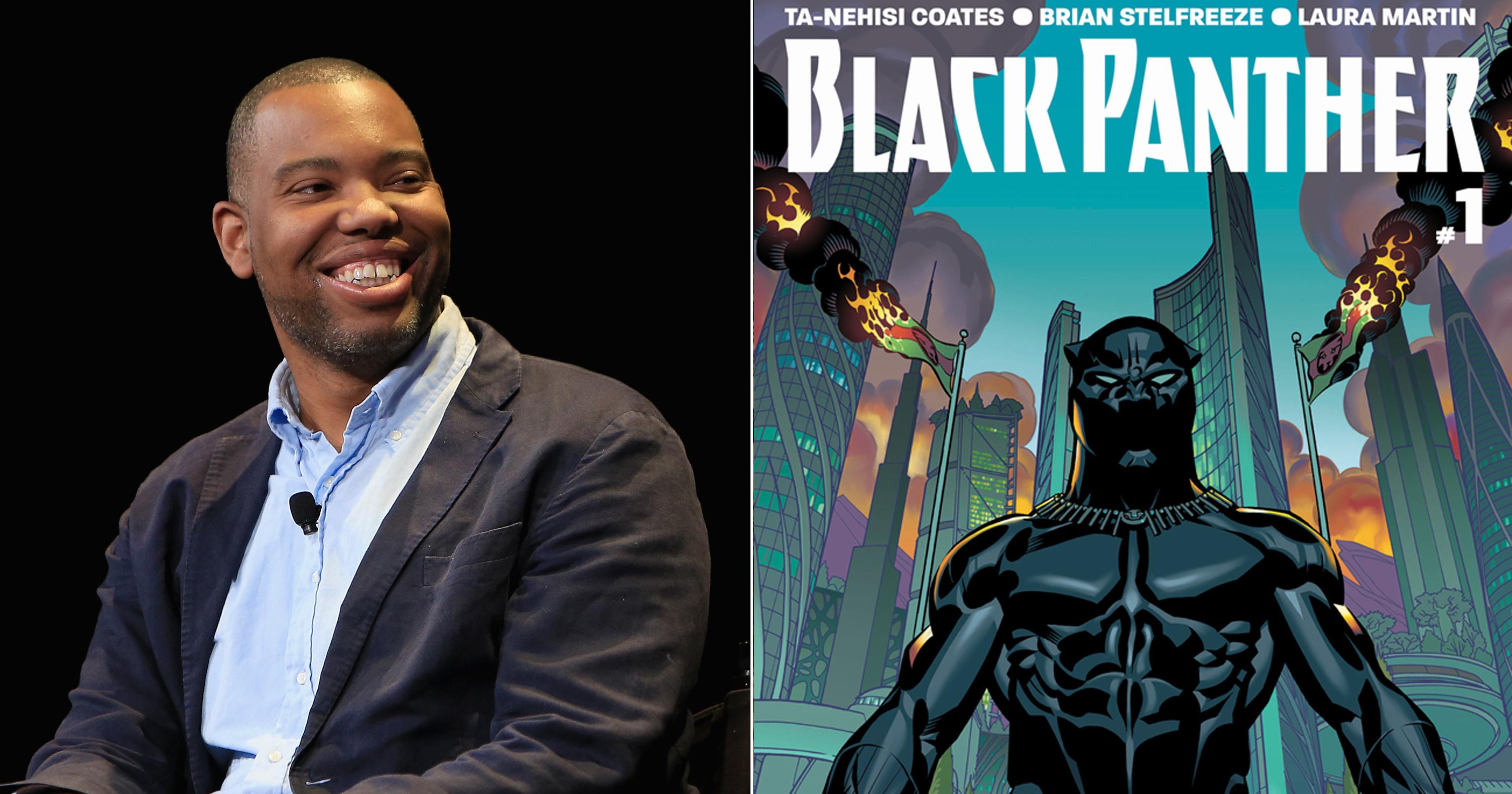 Ta-Nehisi Coates, author of the new Black Panter Marvel comics