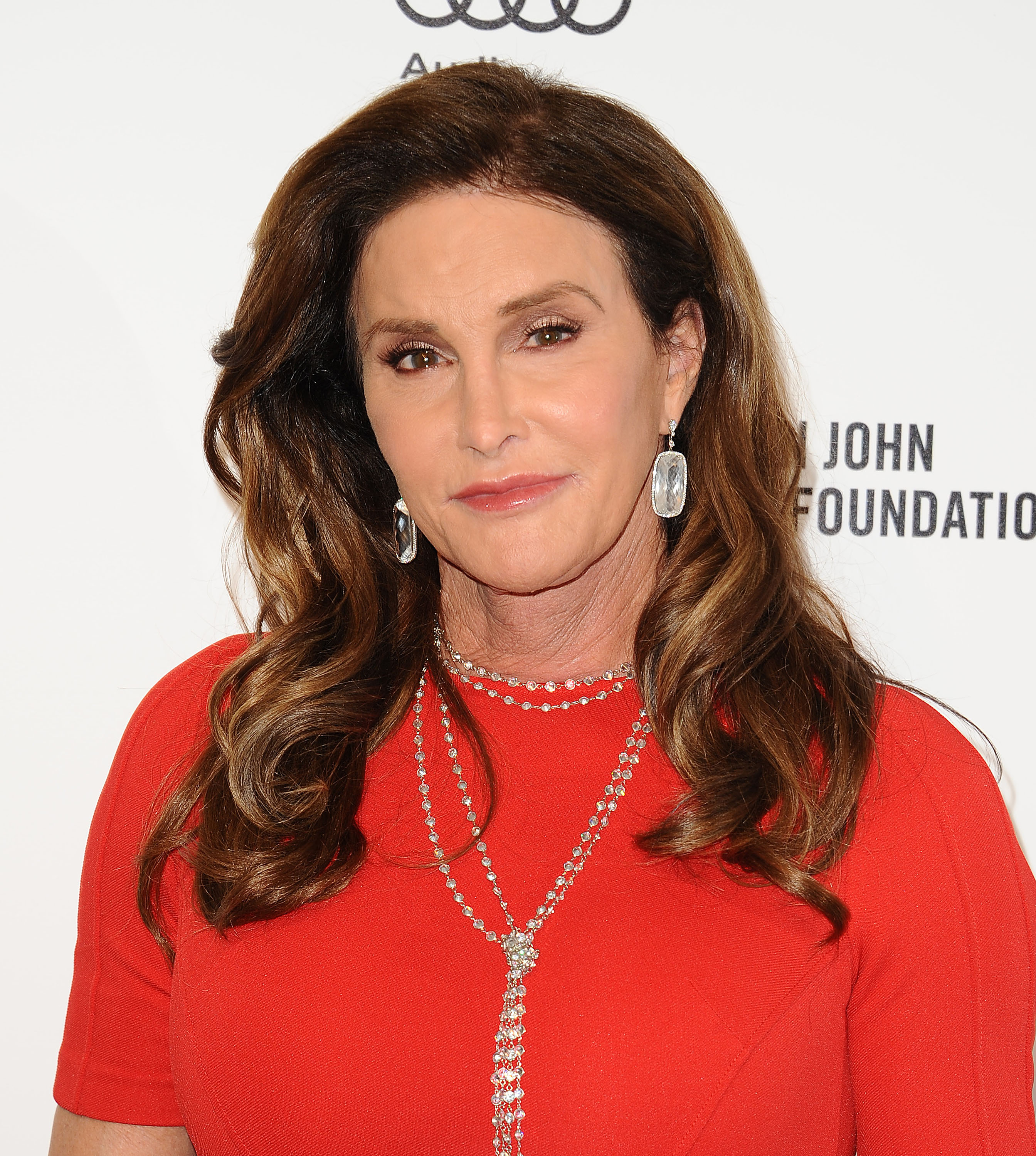 Caitlyn Jenner attends the 24th annual Elton John AIDS Foundation's Oscar viewing party on Feb. 28, 2016 in West Hollywood, California.