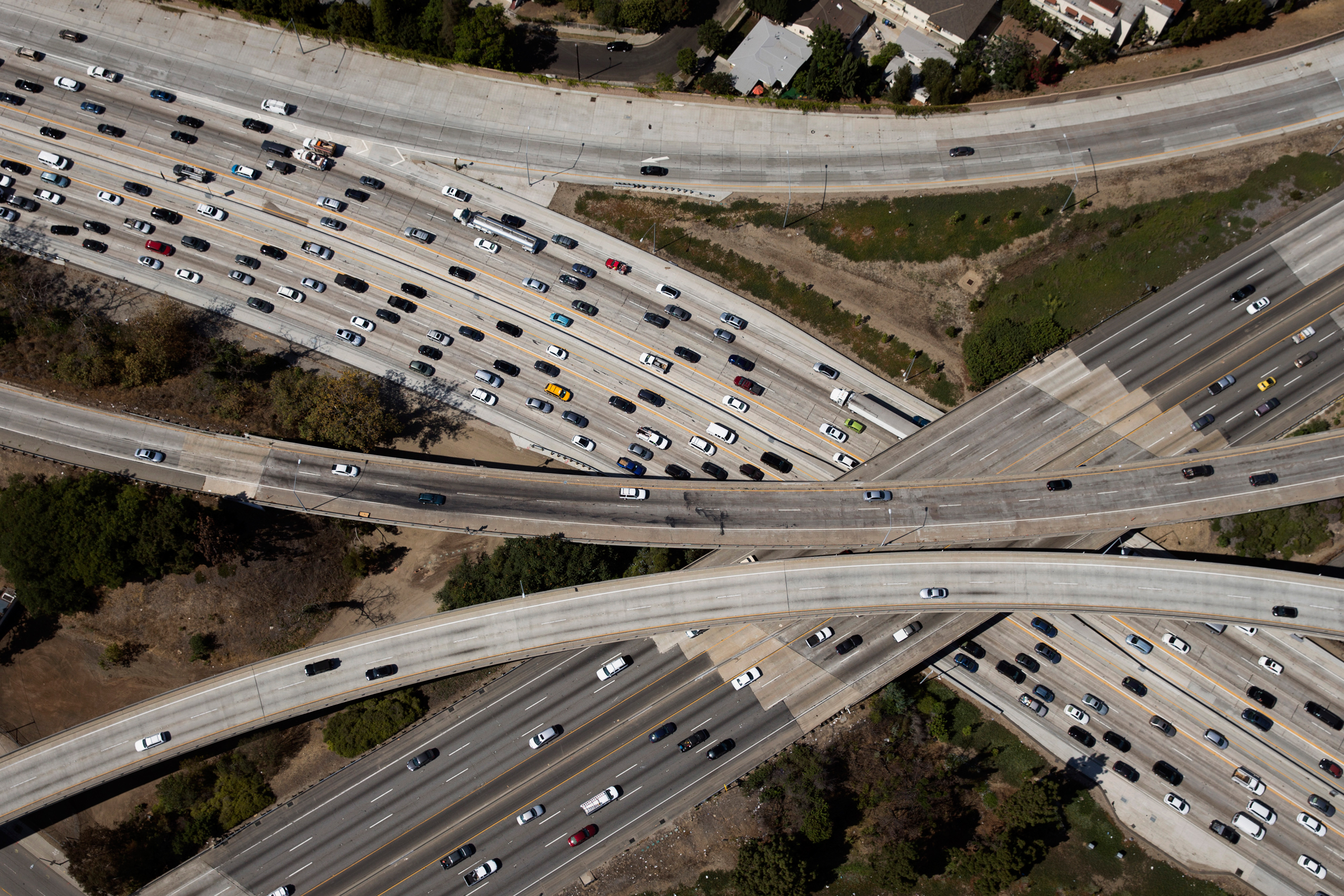 Traffic congestion from lost productivity, energy use and wear on vehicles costs $160 billion annually