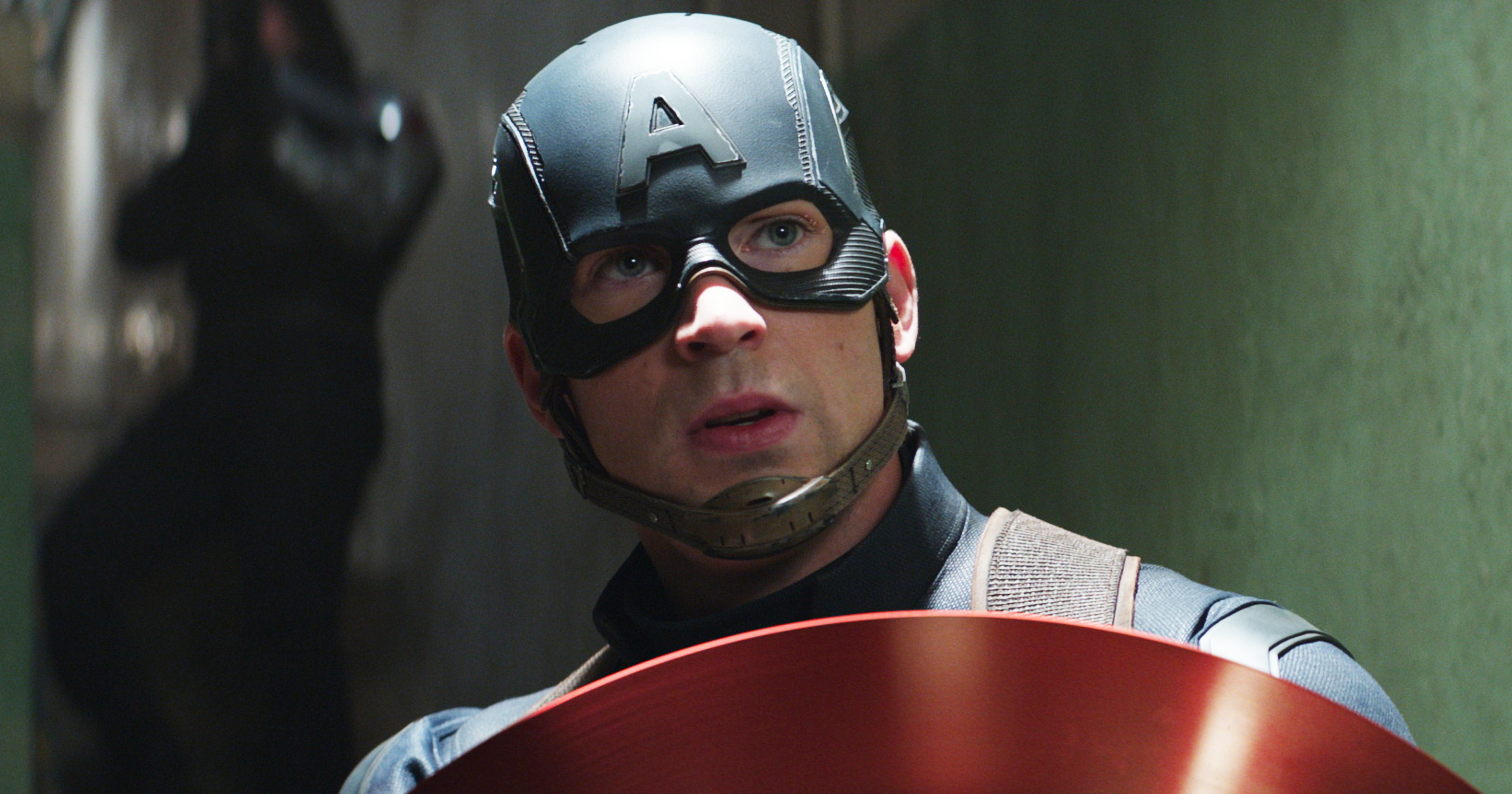 Chris Evans in Captain America: Civil War.