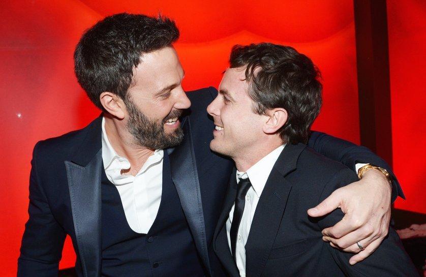 Ben and Casey Affleck.