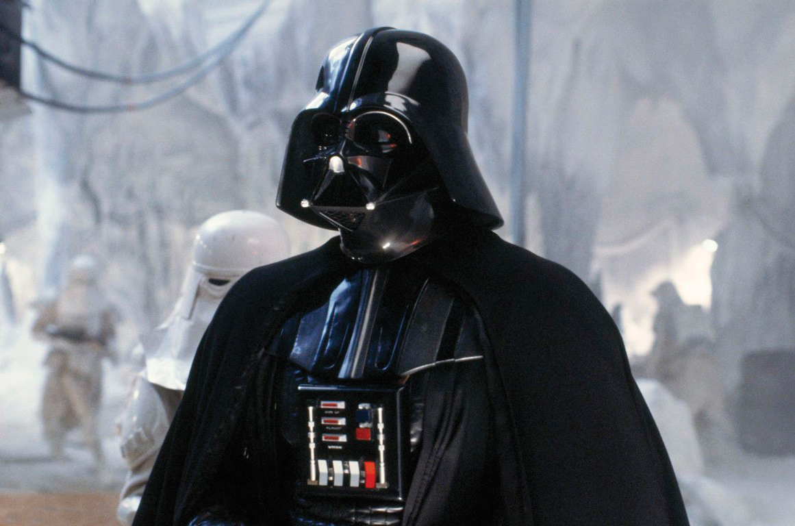 Darth Vader in The Empire Strikes Back.