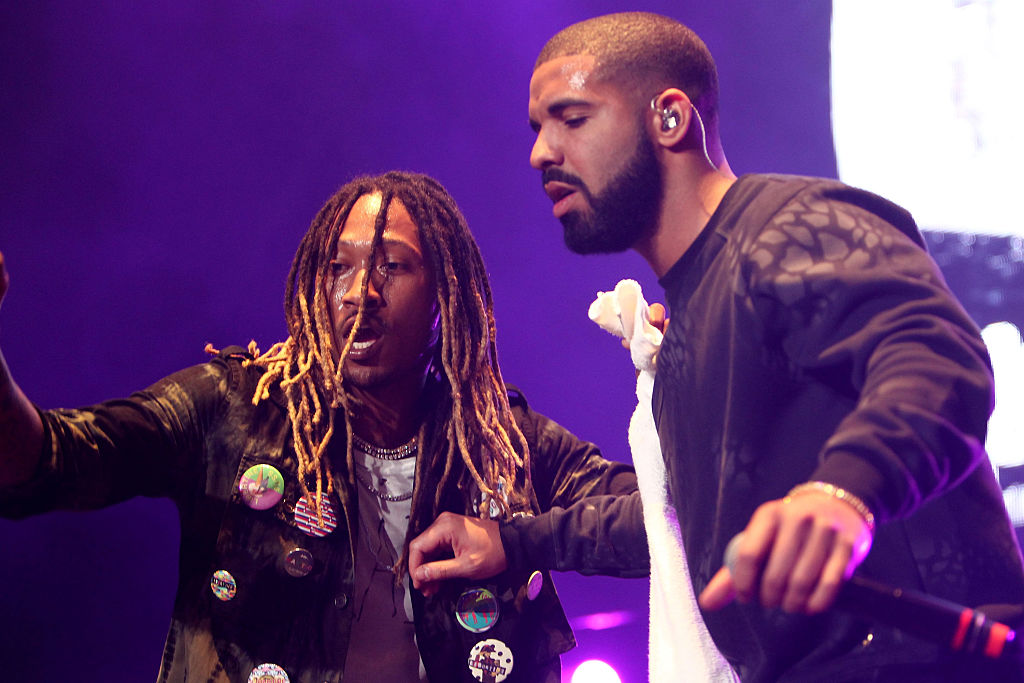 Future and Drake performed at the REAL 92.3's  The Real Show  at The Forum on Nov. 8, 2015 in Inglewood, California.
