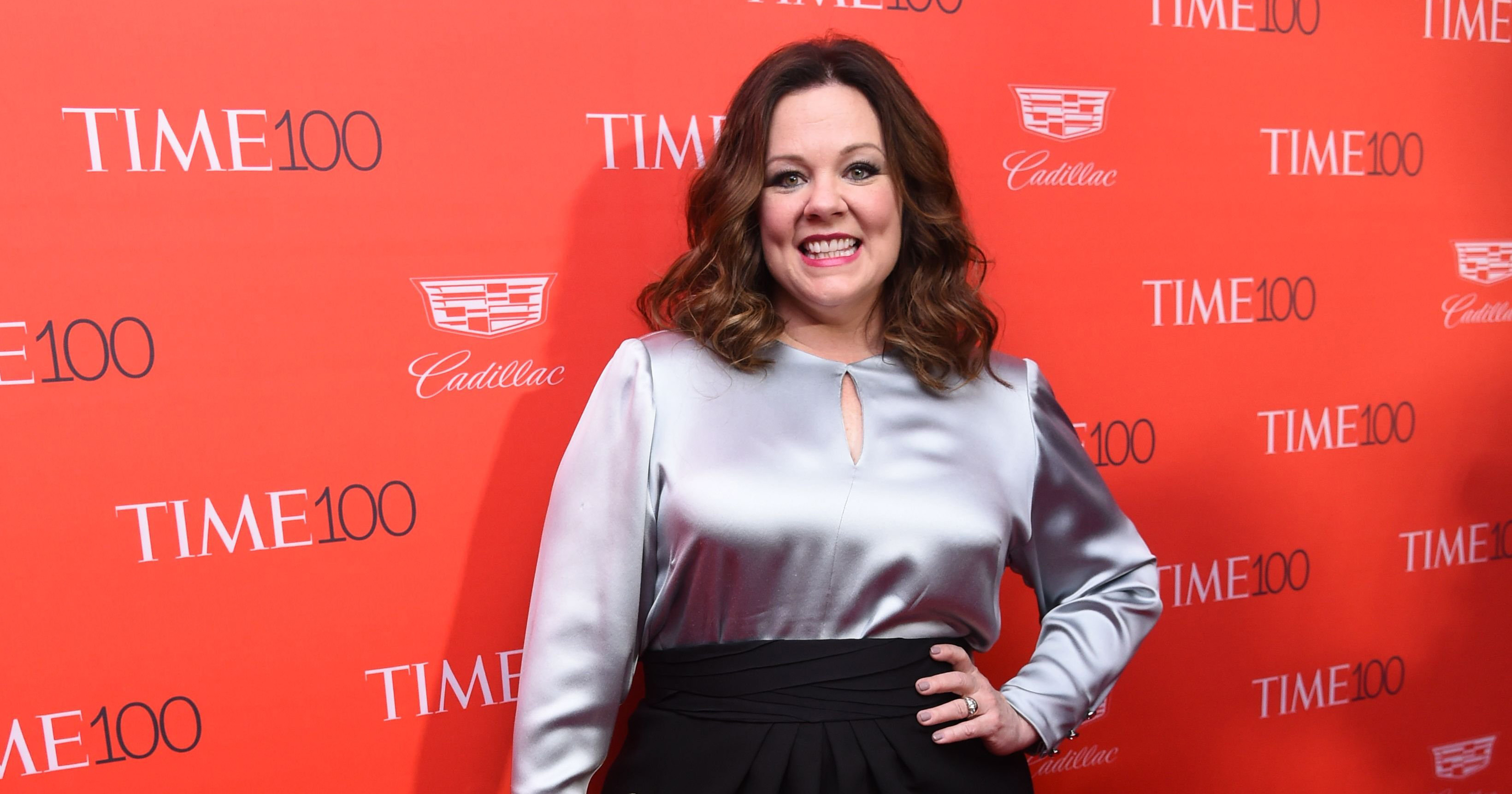 Melissa McCarthy at the TIME 100 gala in New York on April 26, 2016.