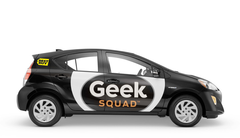 Best Buy Geek Squad Prius