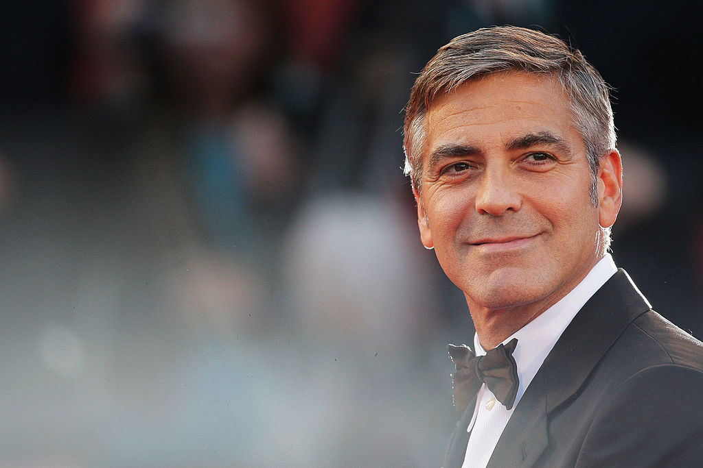 Actor George Clooney attends  The Men Who Stare At Goats  premiere at the Sala Grande during the 66th Venice Film Festival on Sept. 8, 2009 in Venice, Italy.
