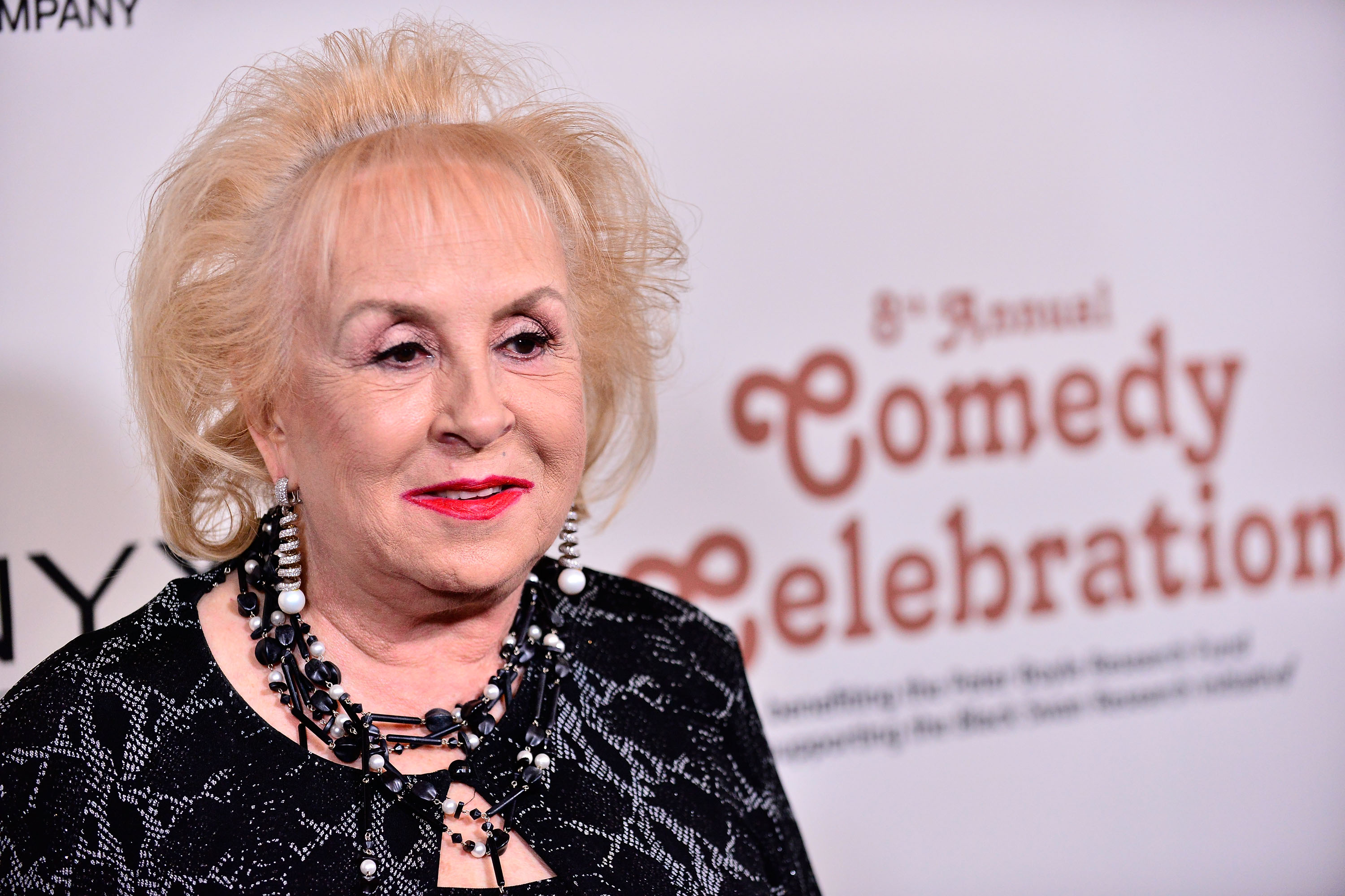Doris Roberts attends the International Myeloma Foundation 8th annual comedy celebration 'Celebrity Autobiography' at the Wilshire Ebell Theatre on November 8, 2014 in Los Angeles, California.
